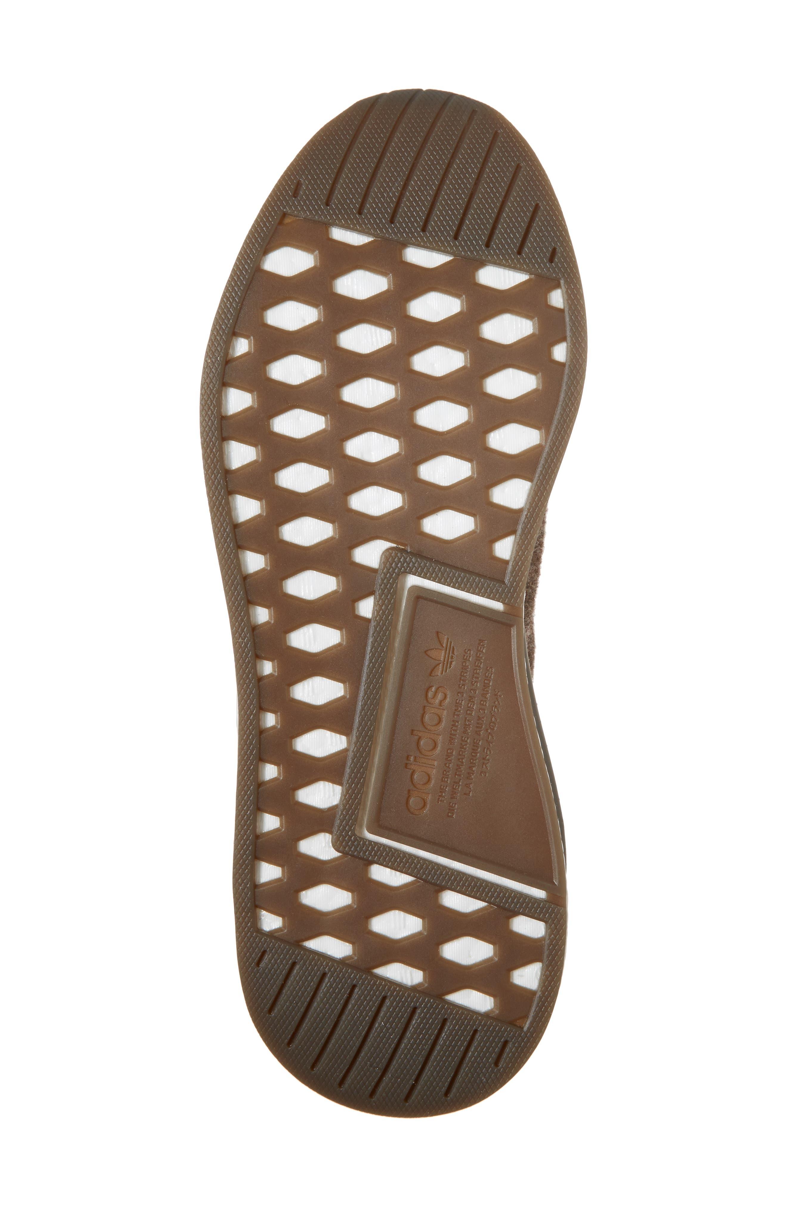 NMD C2 Sneaker (Men0,                             Alternate thumbnail 6, color,                             Simple Brown/ Gum