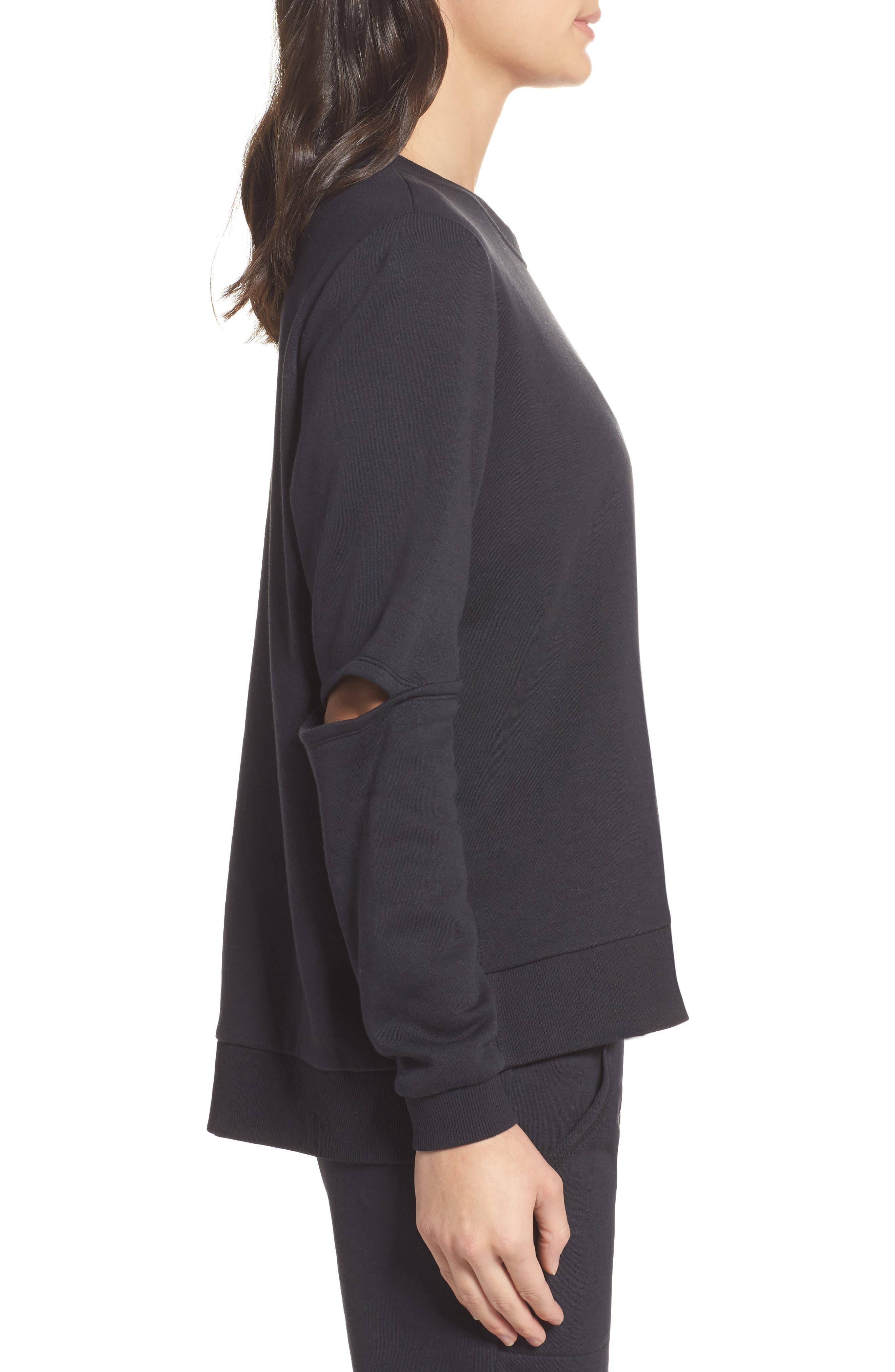 Alternate Image 3  - Alternative Cutout Sweatshirt