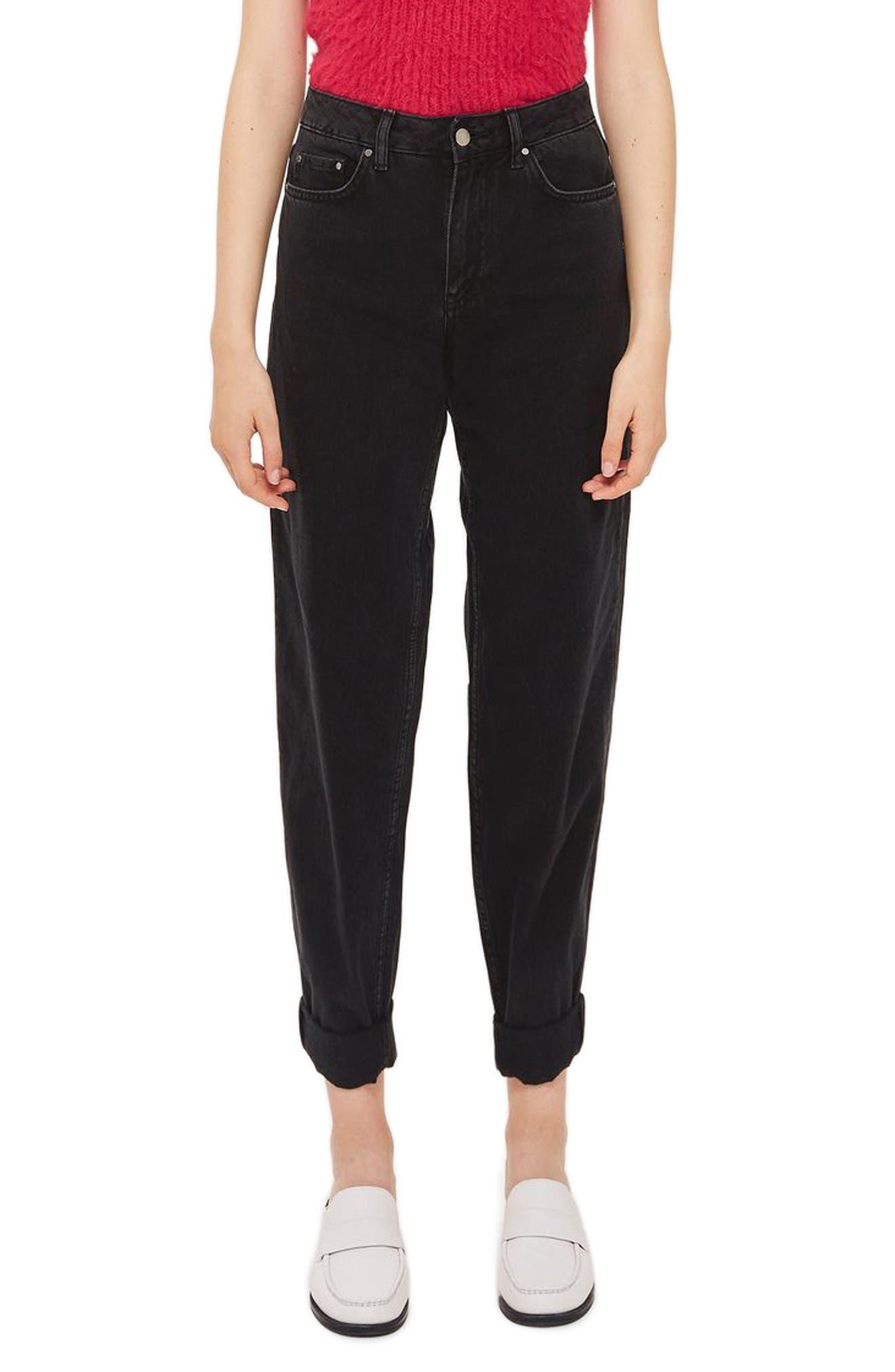 Alternate Image 1 Selected - Topshop Boutique Boyfriend Jeans