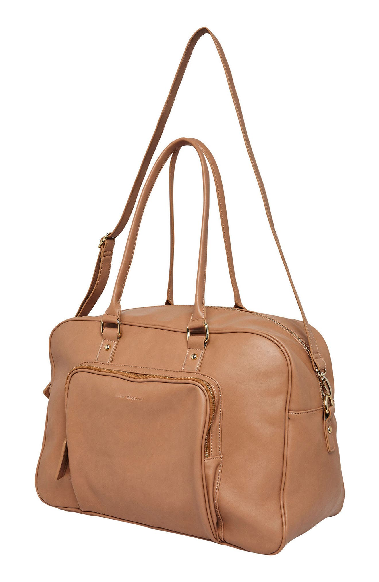A Million Reasons Vegan Leather Tote,                             Alternate thumbnail 2, color,                             Nude