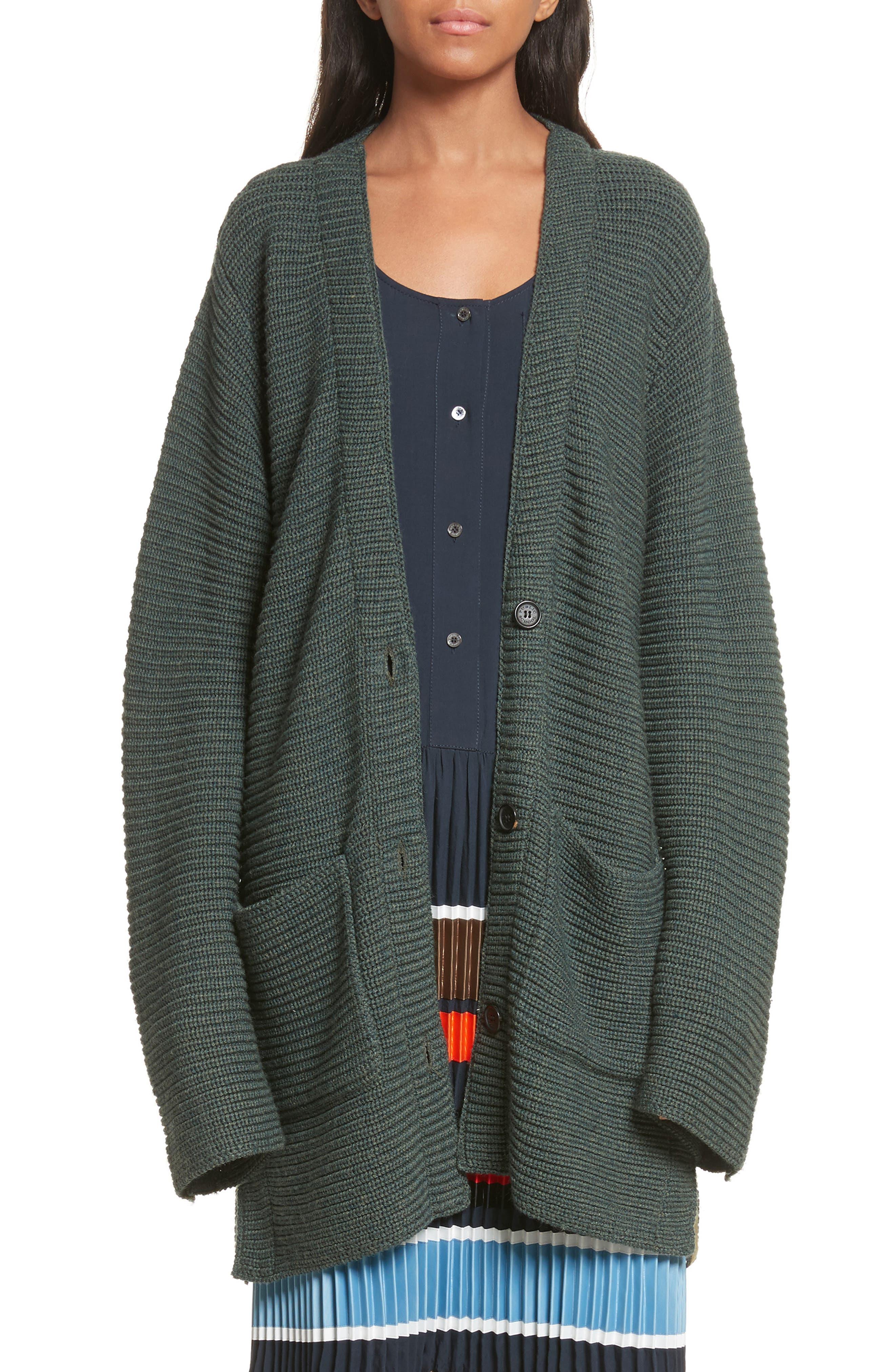 Public School Fleta Merino Wool Blend Cardigan
