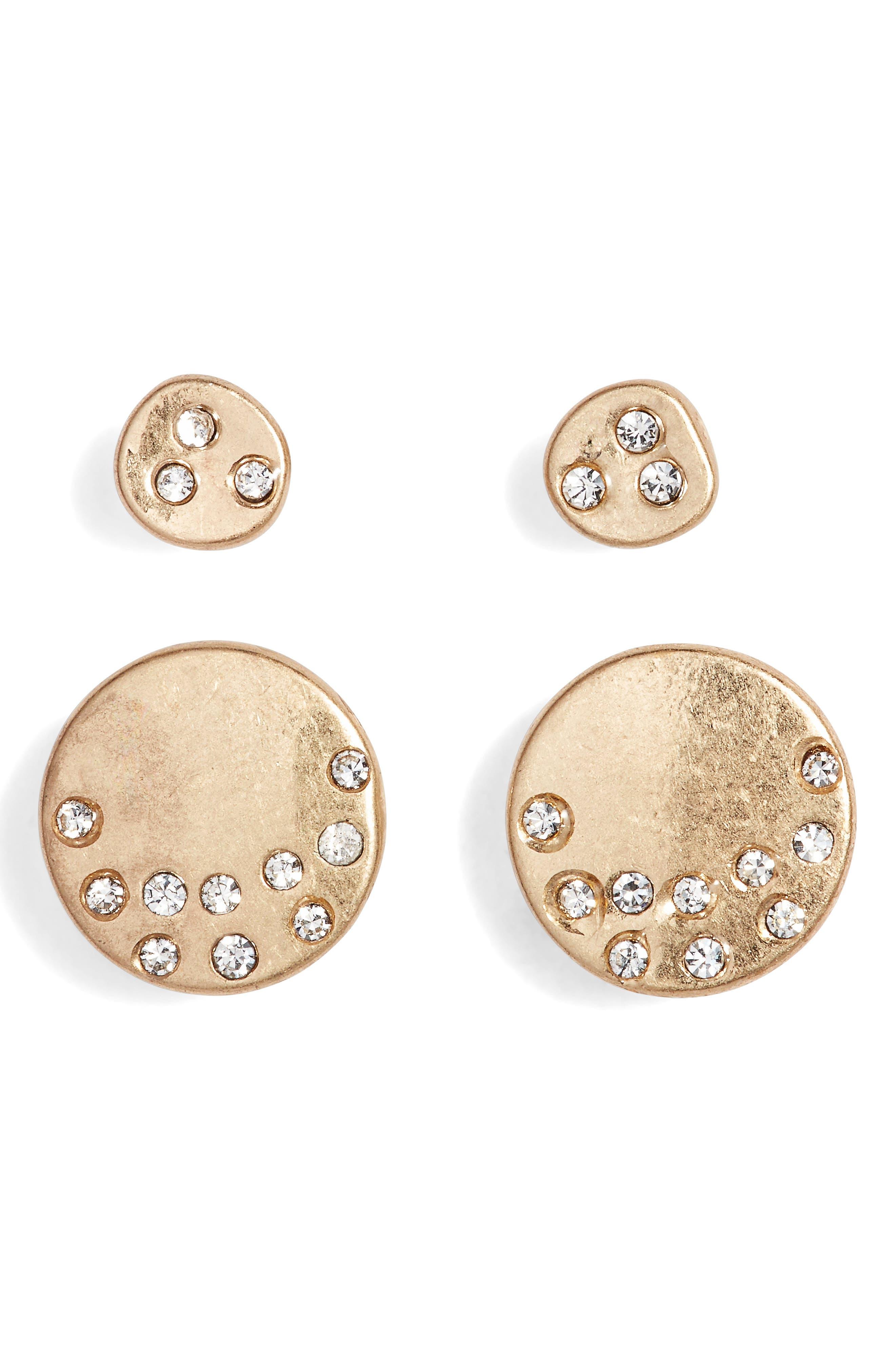 Treasure & Bond Set of 2 Stud Earrings
