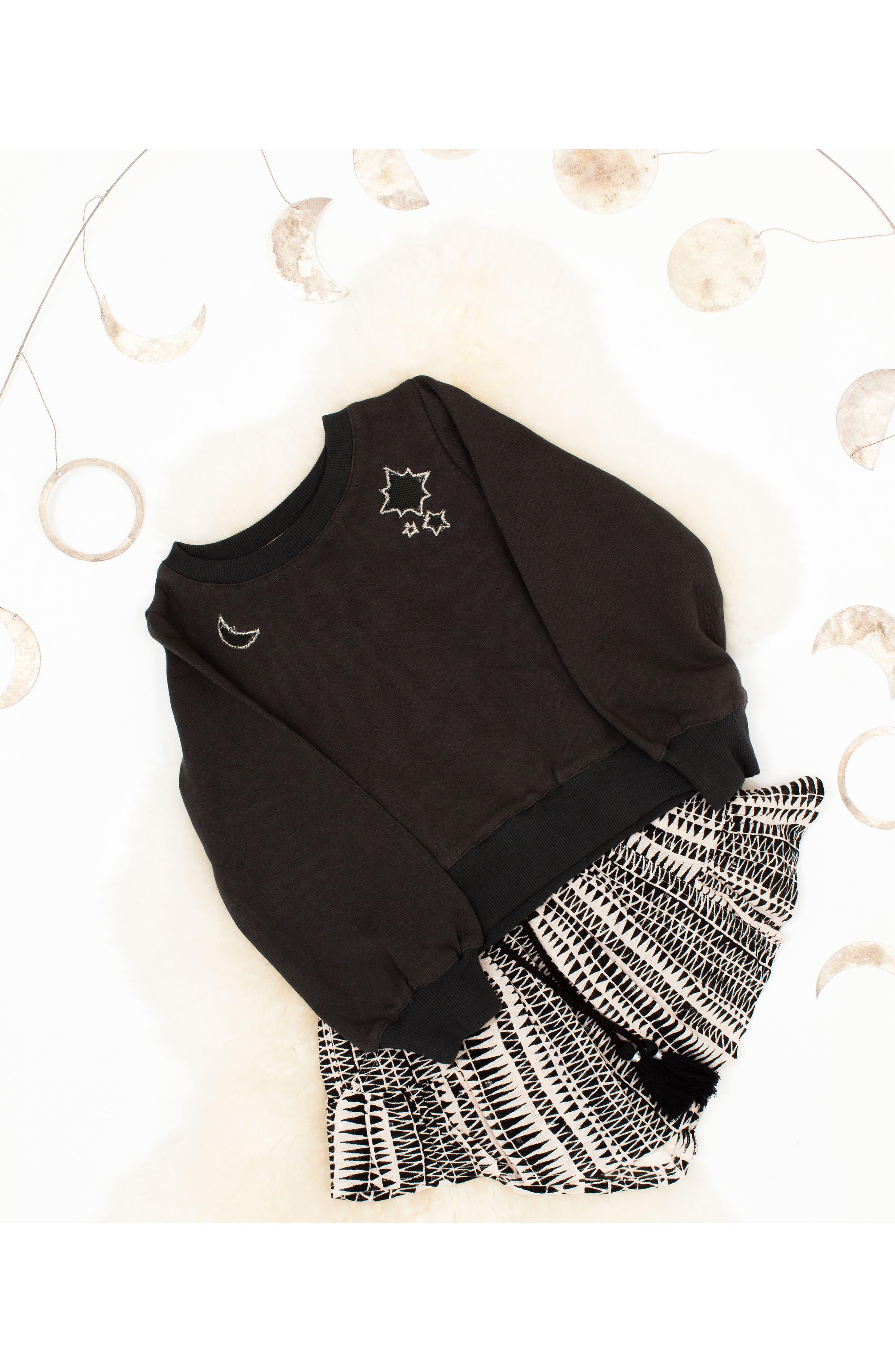 Alternate Image 4  - BOWIE X JAMES Alchemy Sweatshirt (Toddler Girls, Little Girls & Big Girls)