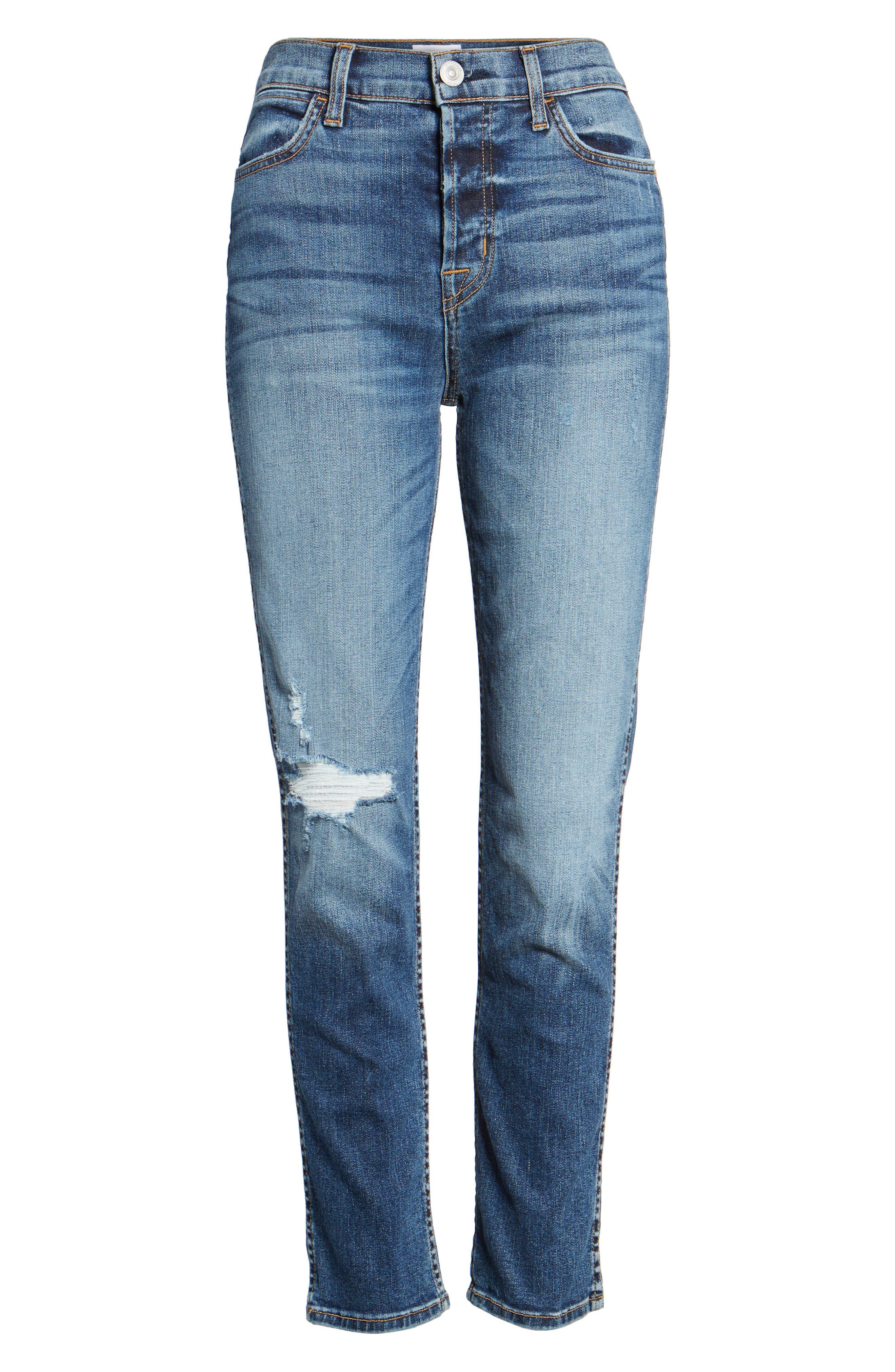 Alternate Image 6  - Hudson Jeans Holly High Waist Ankle Skinny Jeans