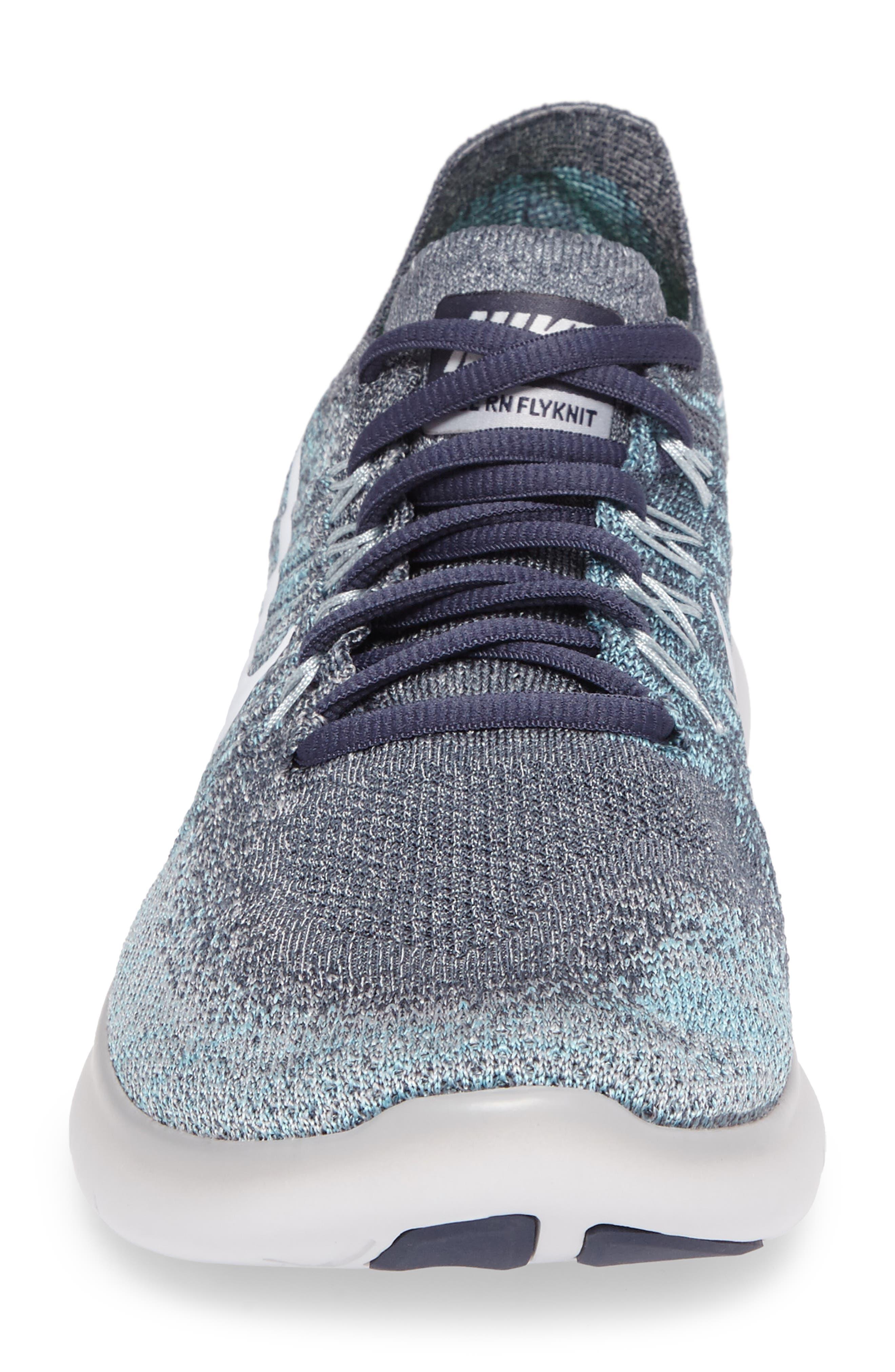 Alternate Image 4  - Nike Free Run Flyknit 2017 Running Shoe (Men)