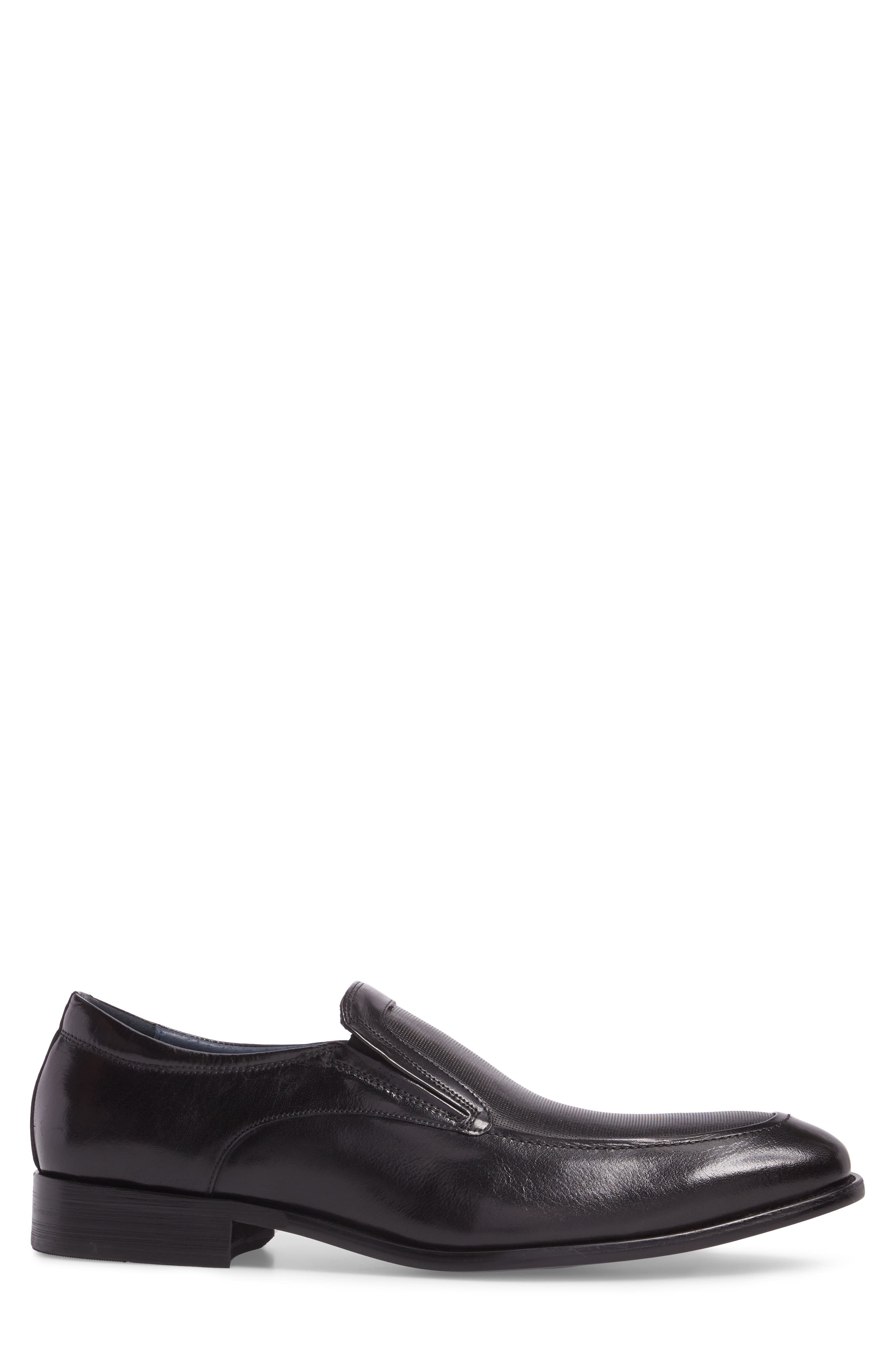 Alternate Image 3  - Stacy Adams Jace Embossed Apron Toe Loafer (Men)