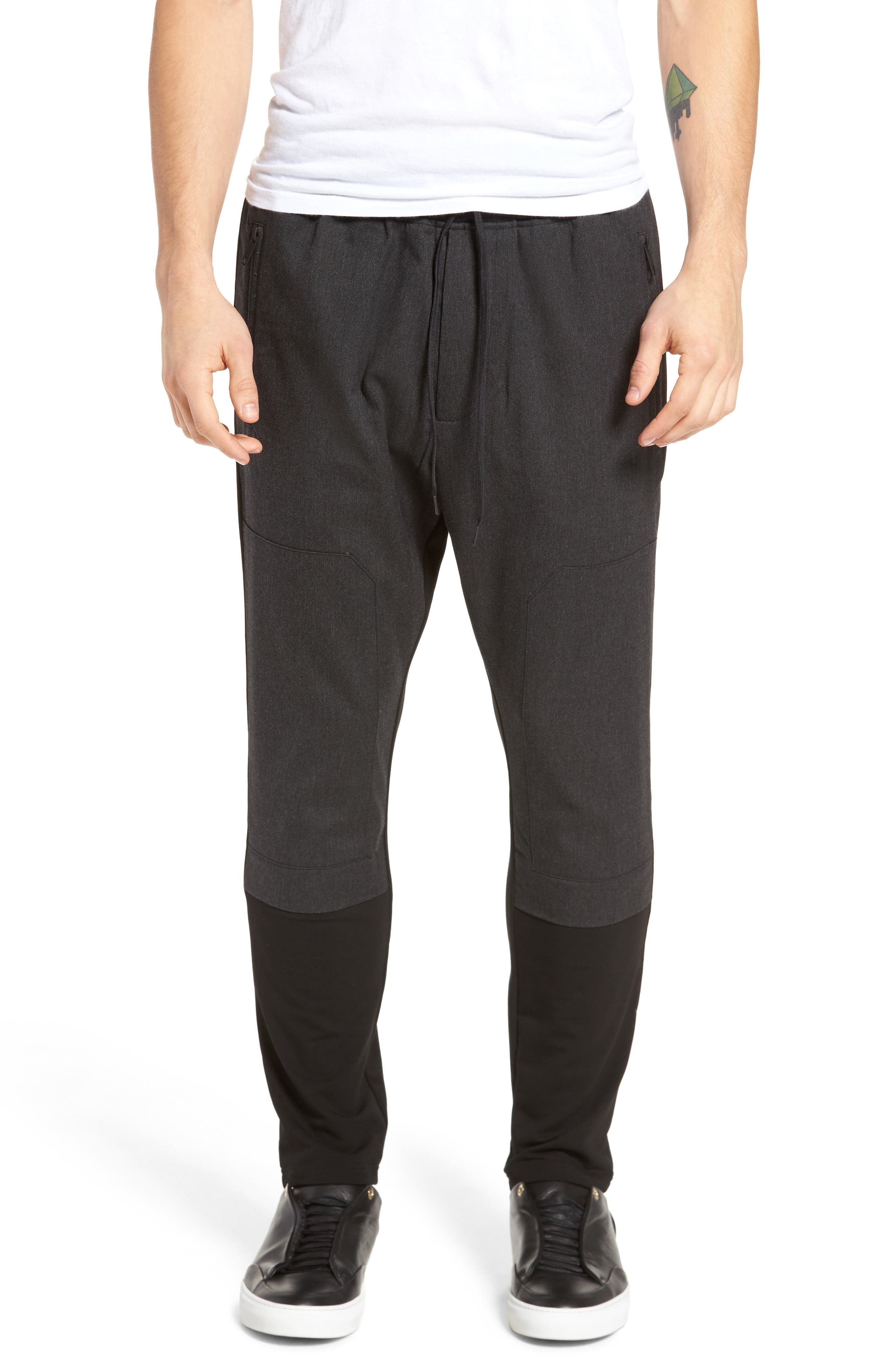 Alternate Image 1 Selected - Antony Morato Fleece Pants