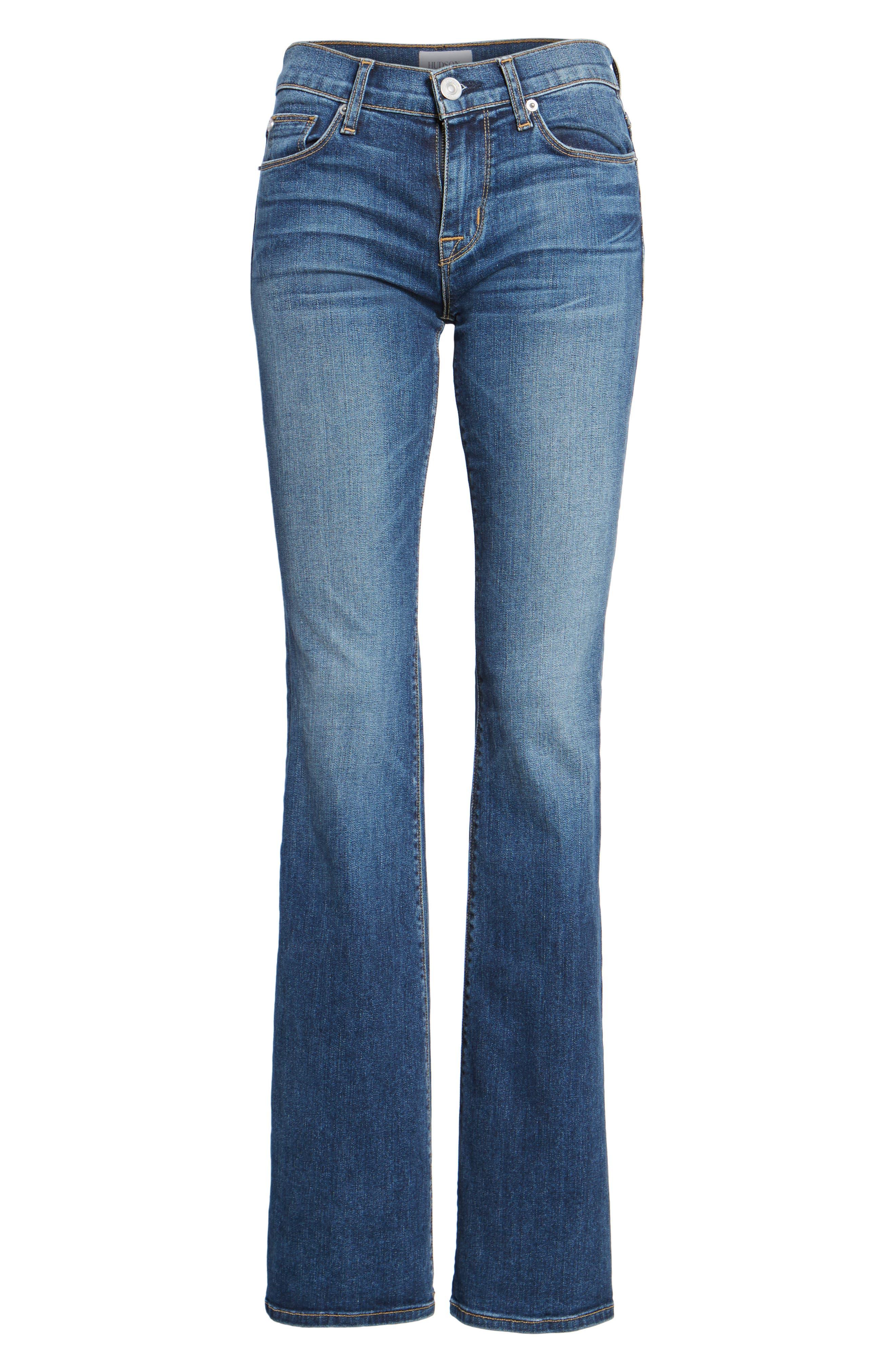 Alternate Image 6  - Hudson Jeans Drew Bootcut Jeans (Unfamed)