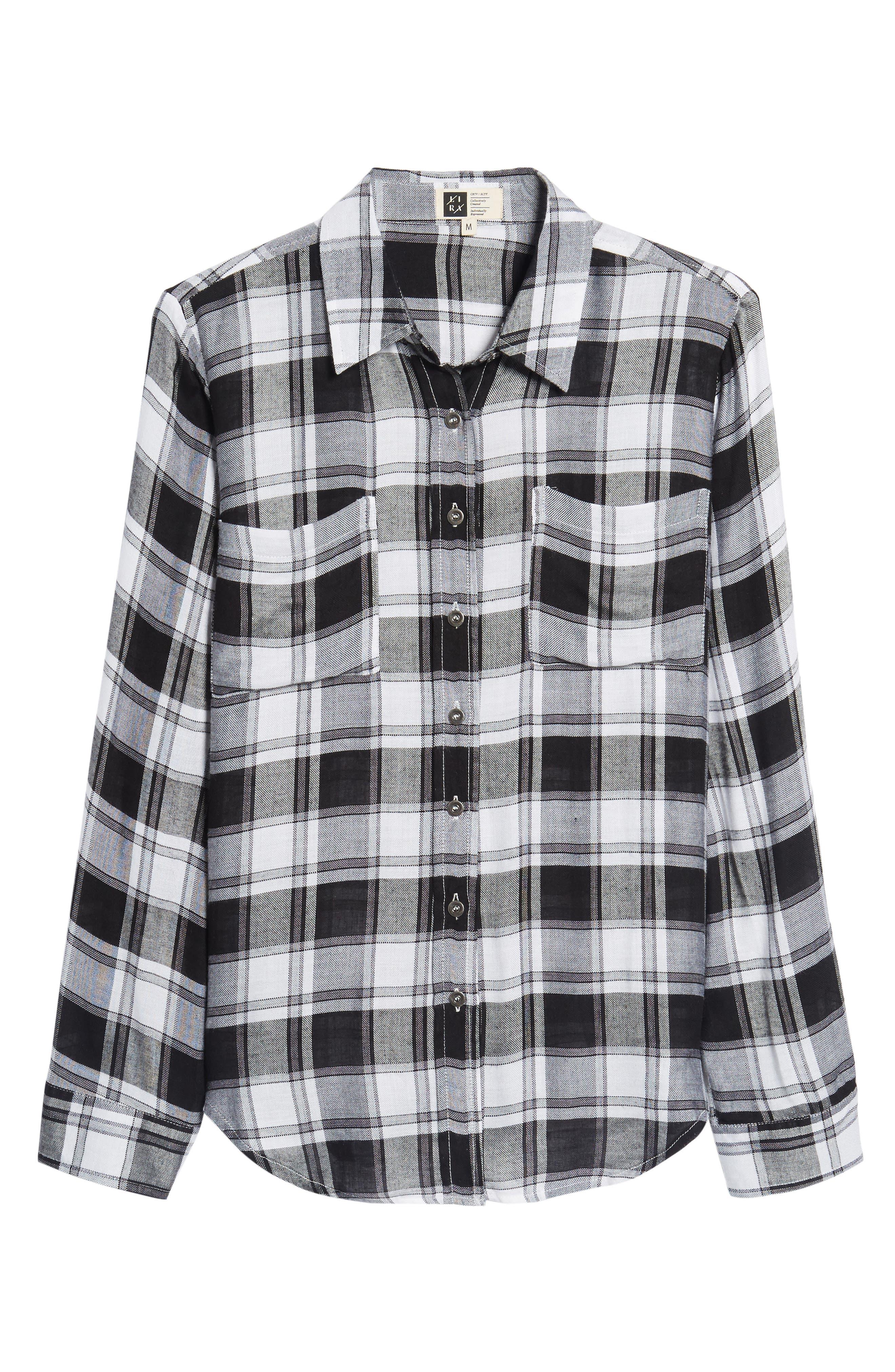 Alternate Image 7  - Lira Clothing Anarchy Plaid Shirt