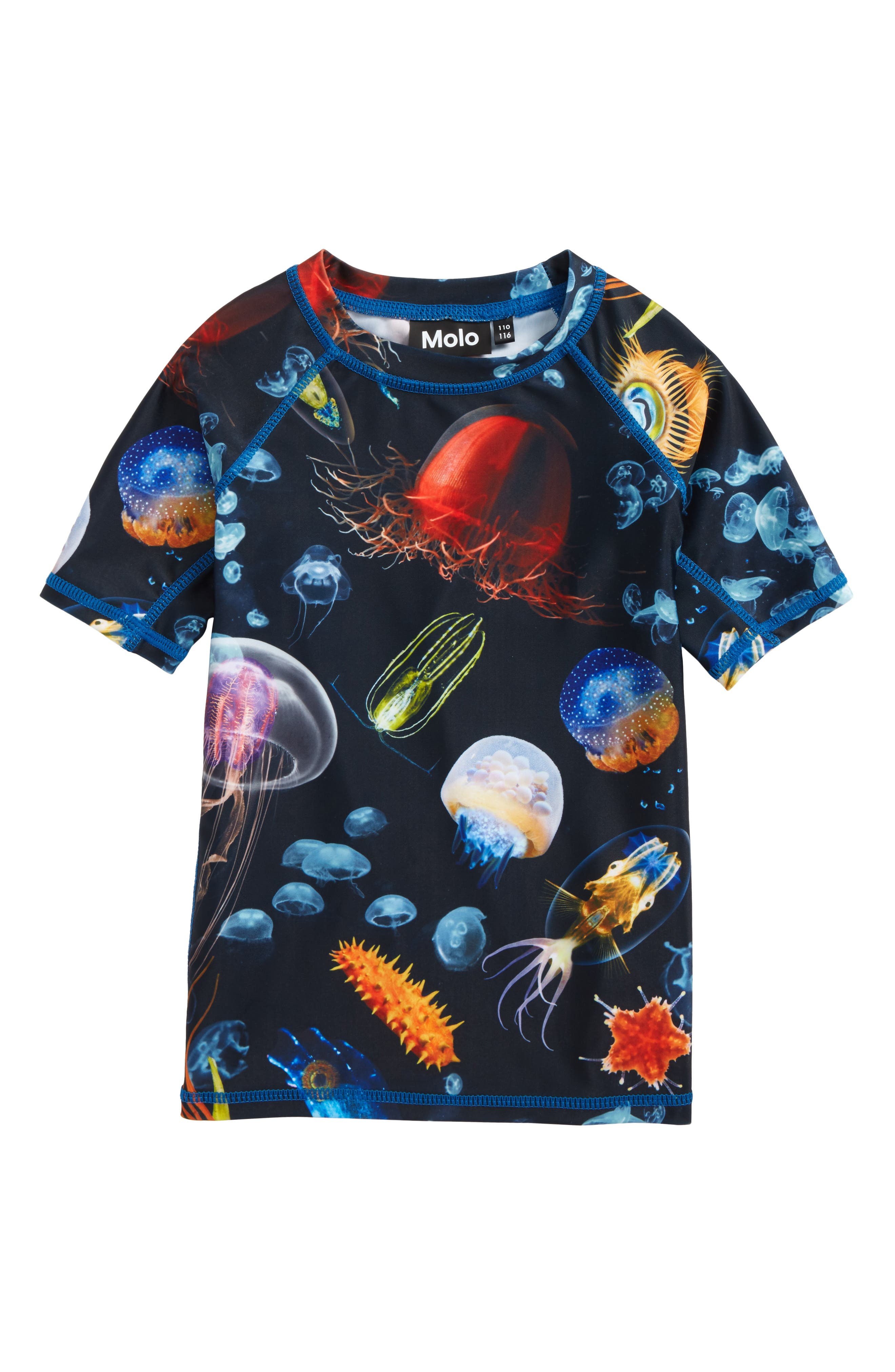 molo Neptune Short Sleeve Rashguard (Toddler Boys, Little Boys & Big Boys)