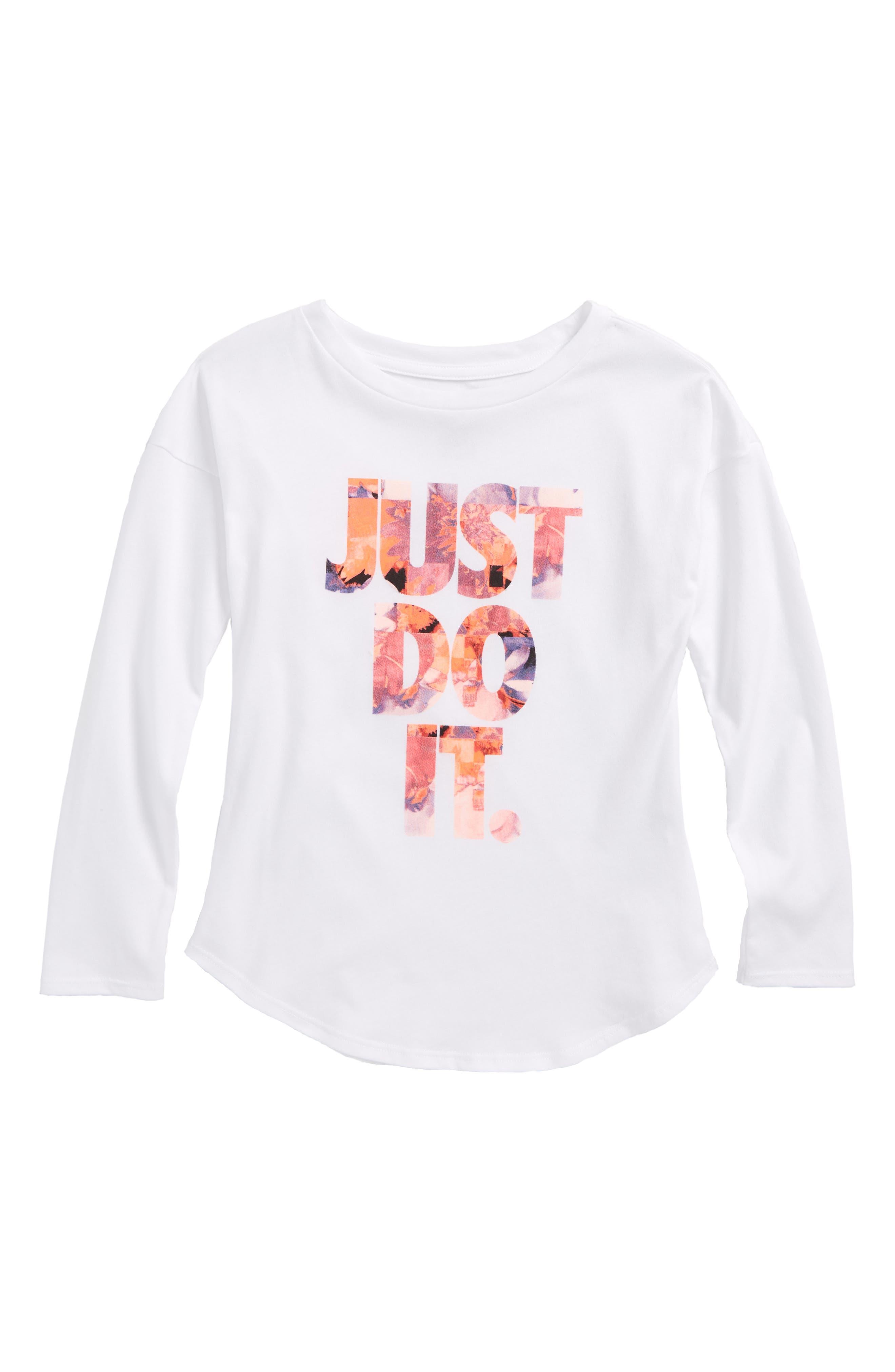 Nike Flower Jams Modern Tee (Toddler Girls & Little Girls)