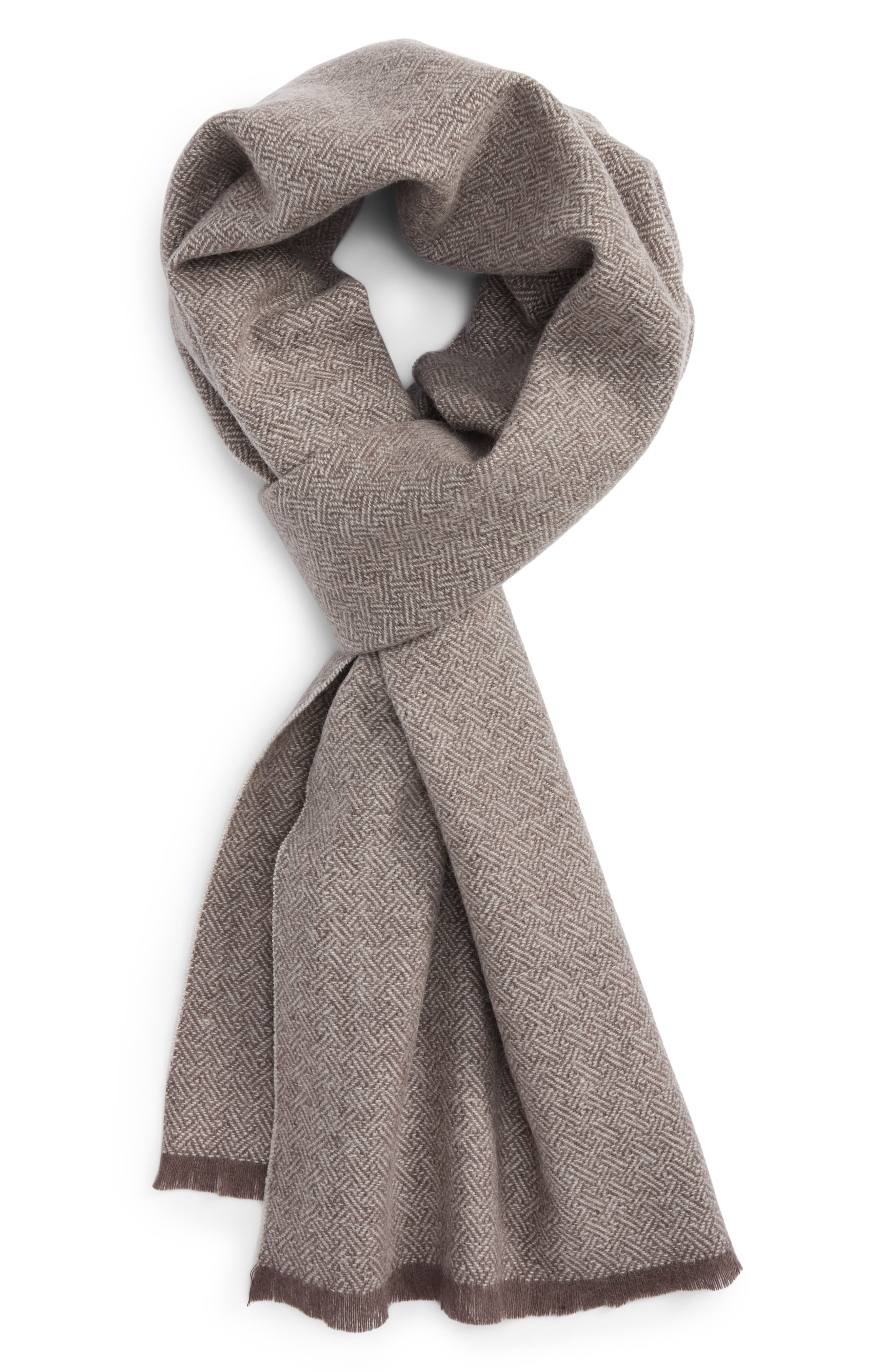 Nordstrom Men's Shop Solid Wool Scarf
