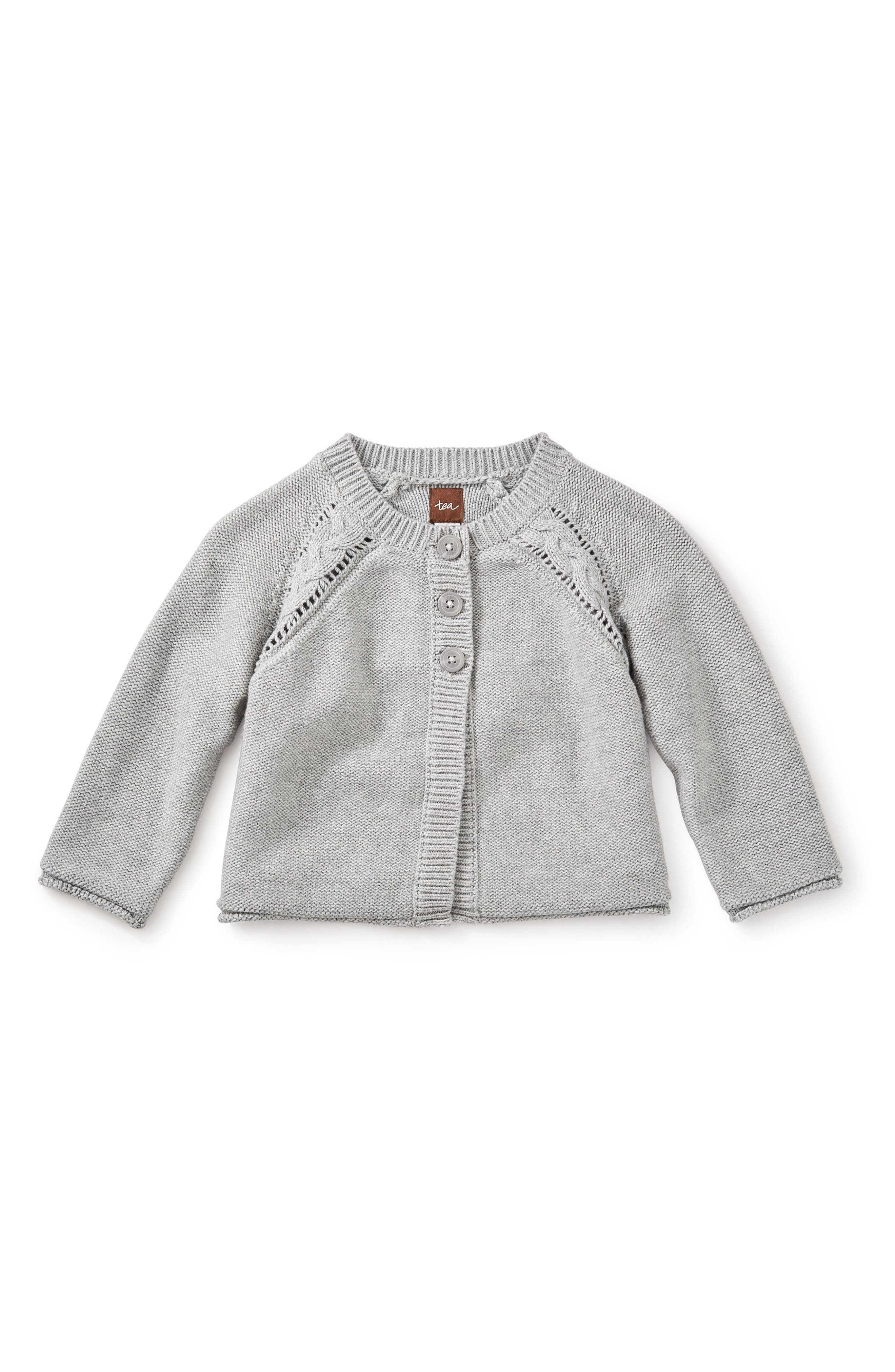 Agatha Cardigan,                             Main thumbnail 1, color,                             Medium Heather Grey