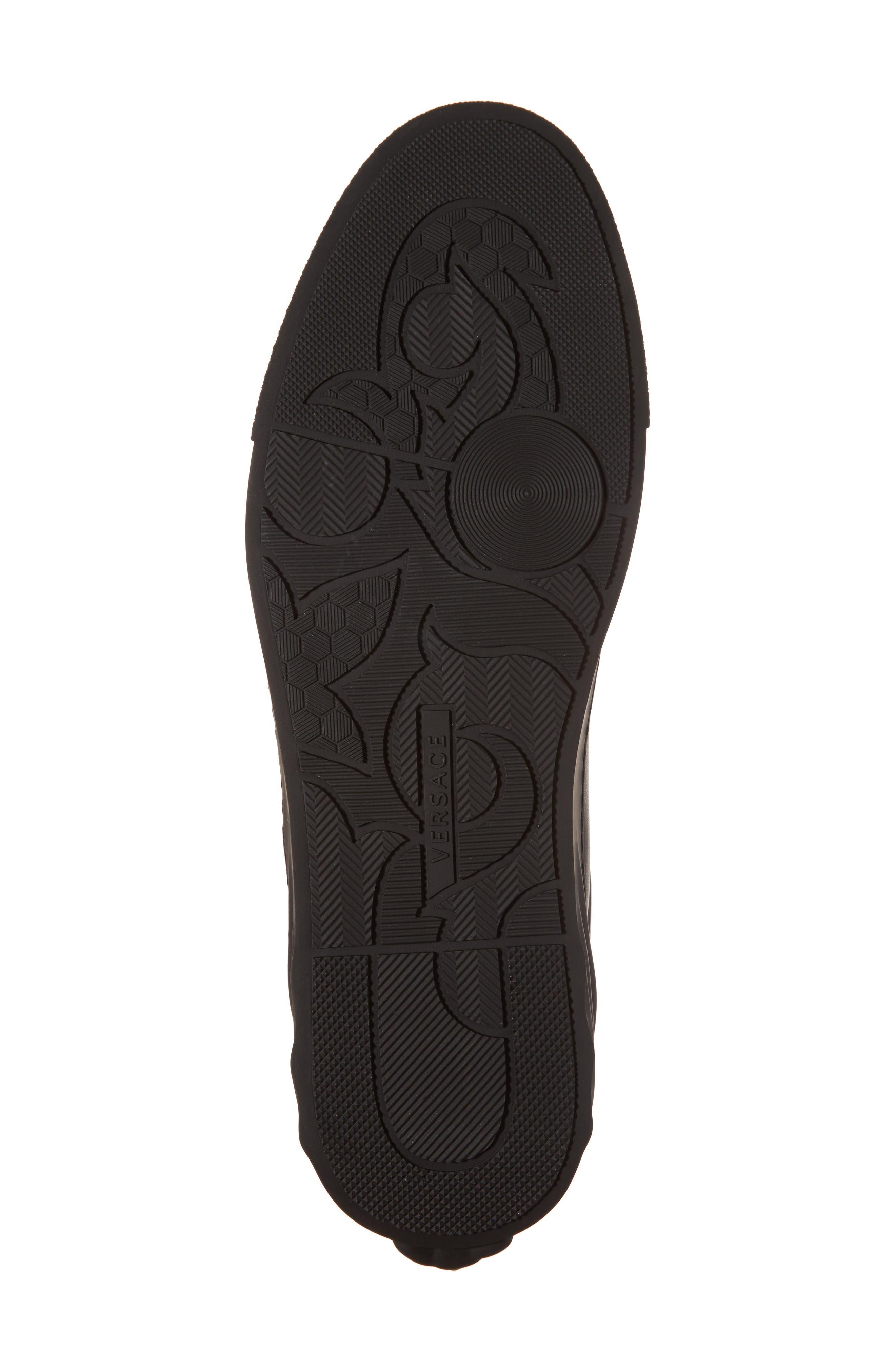3D Medusa Sneaker,                             Alternate thumbnail 6, color,                             Black