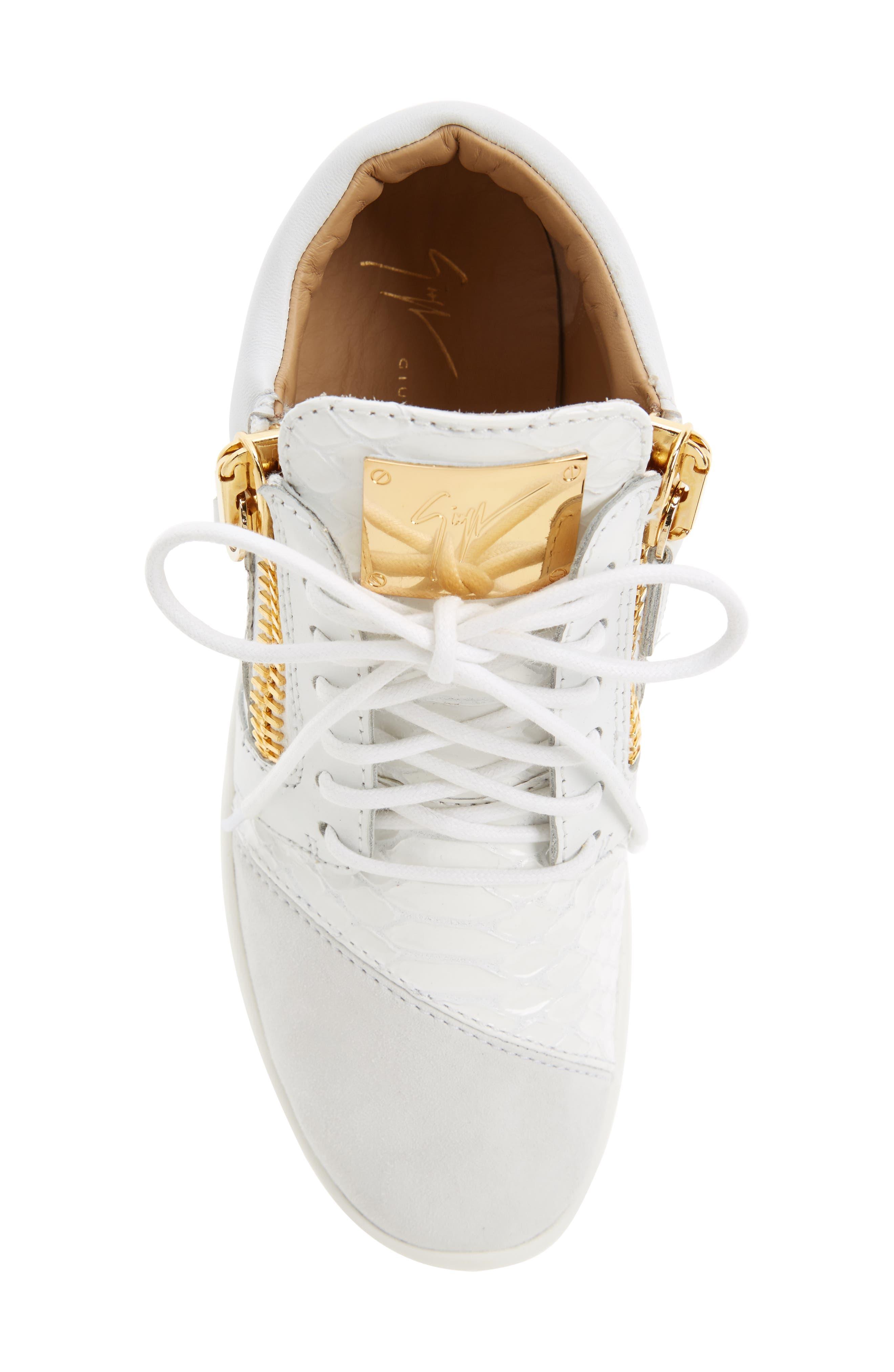 Alternate Image 5  - Giuseppe Zanotti Low Top Sneaker (Women)