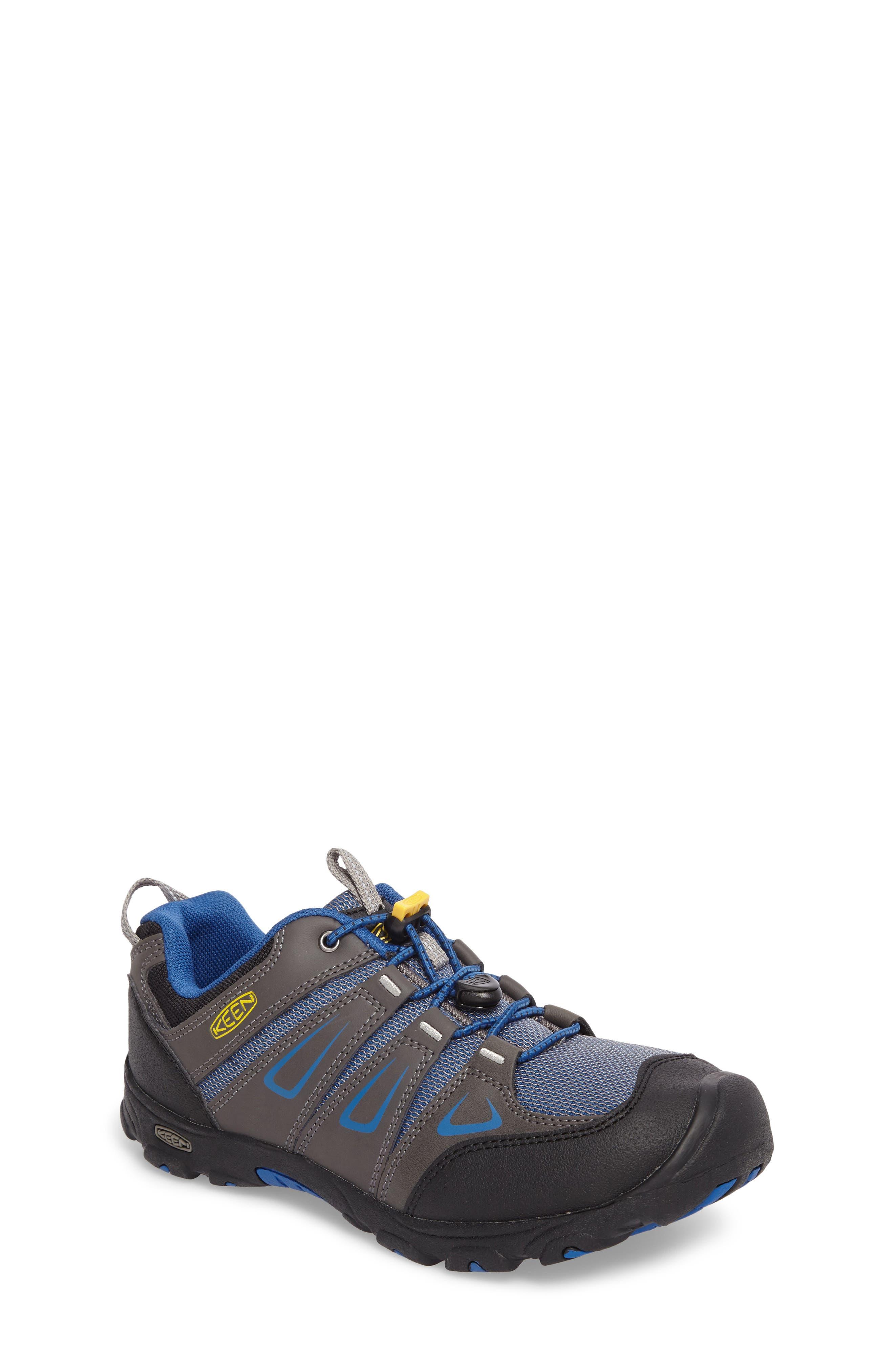Oakridge Hiking Shoe,                             Main thumbnail 1, color,                             Magnet/ True Blue