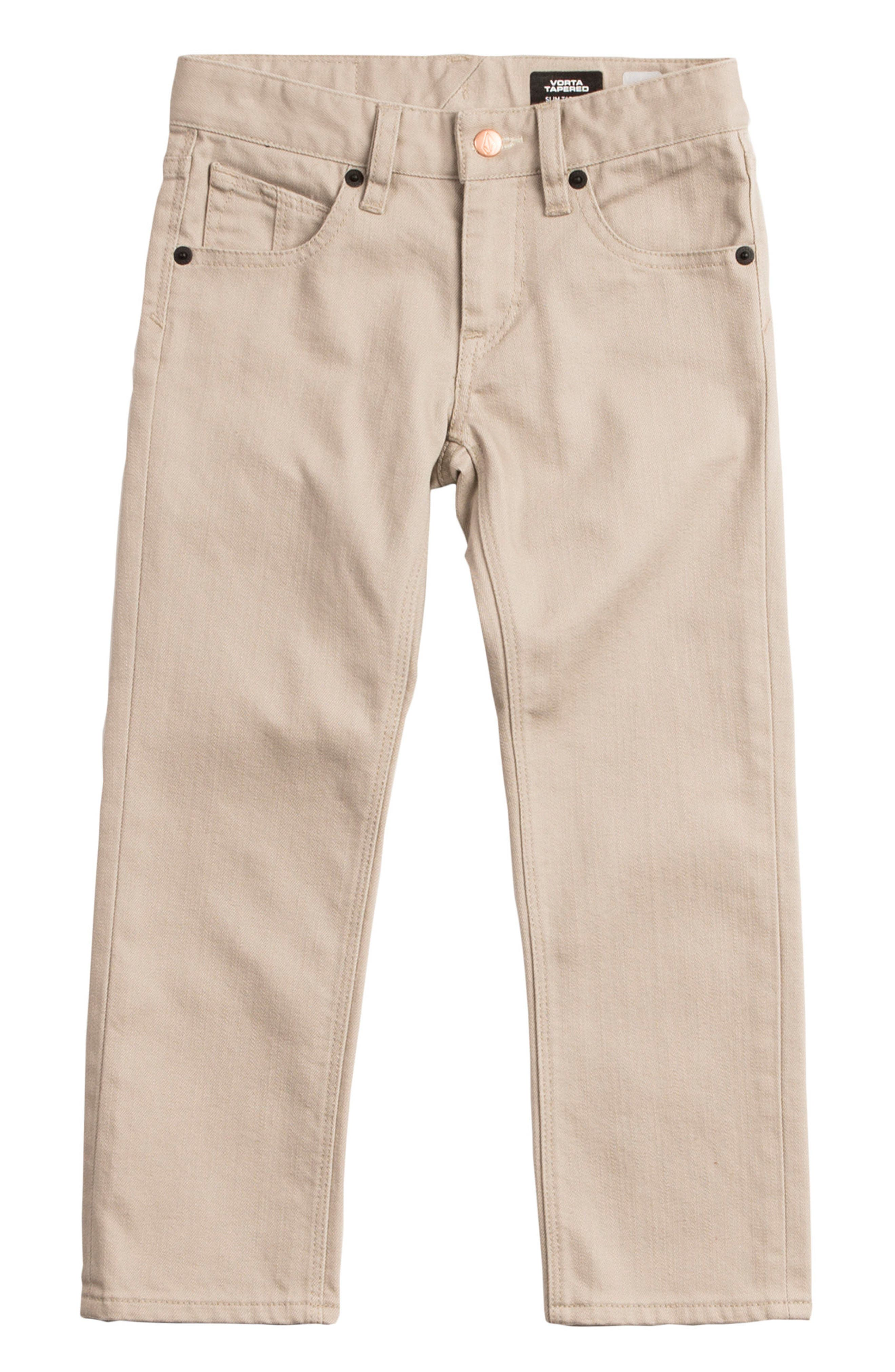 Volcom Vorta Slubbed Jeans (Toddler Boys & Little Boys)