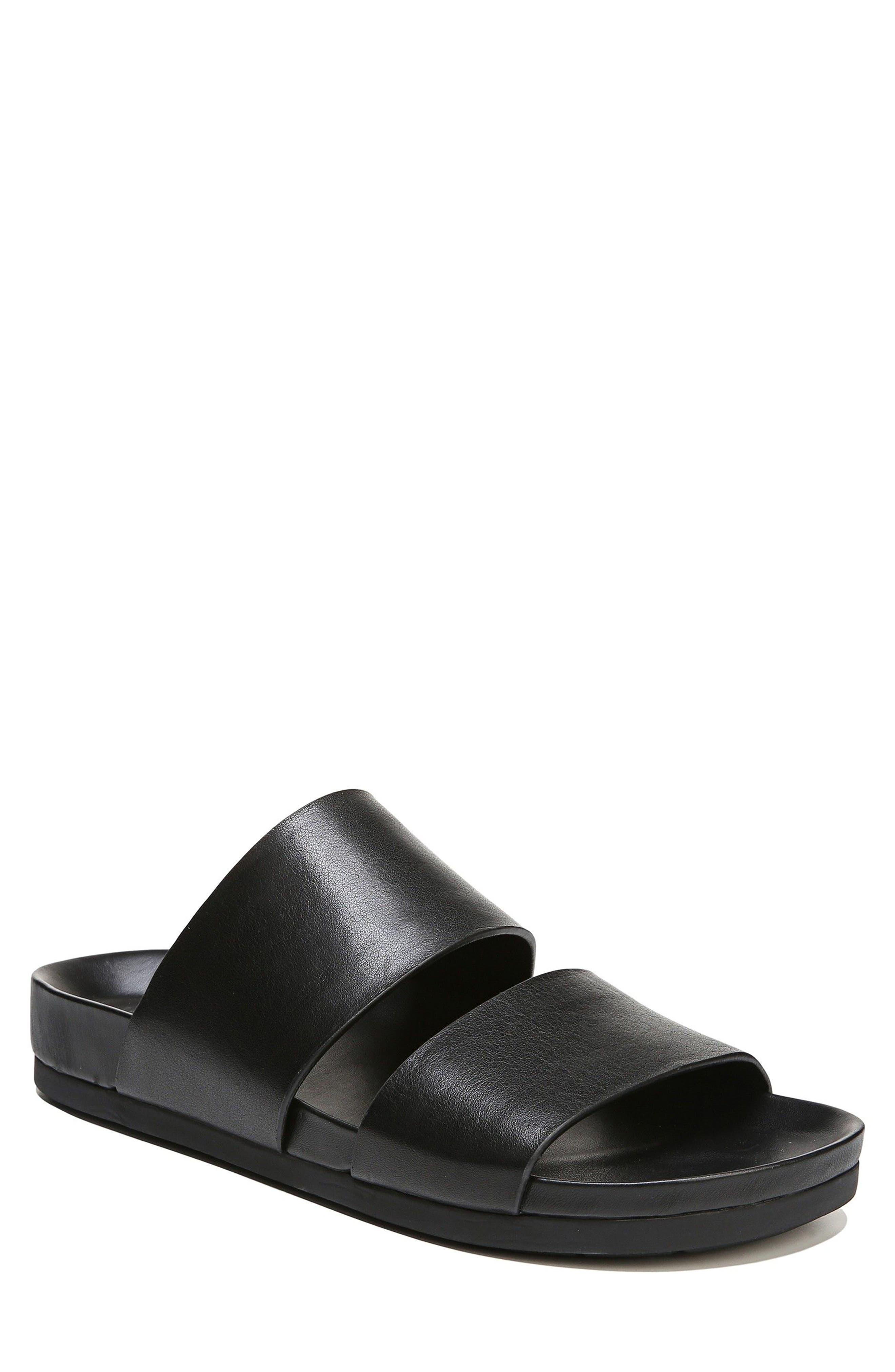 Malibu Slide Sandal,                             Main thumbnail 1, color,                             Black