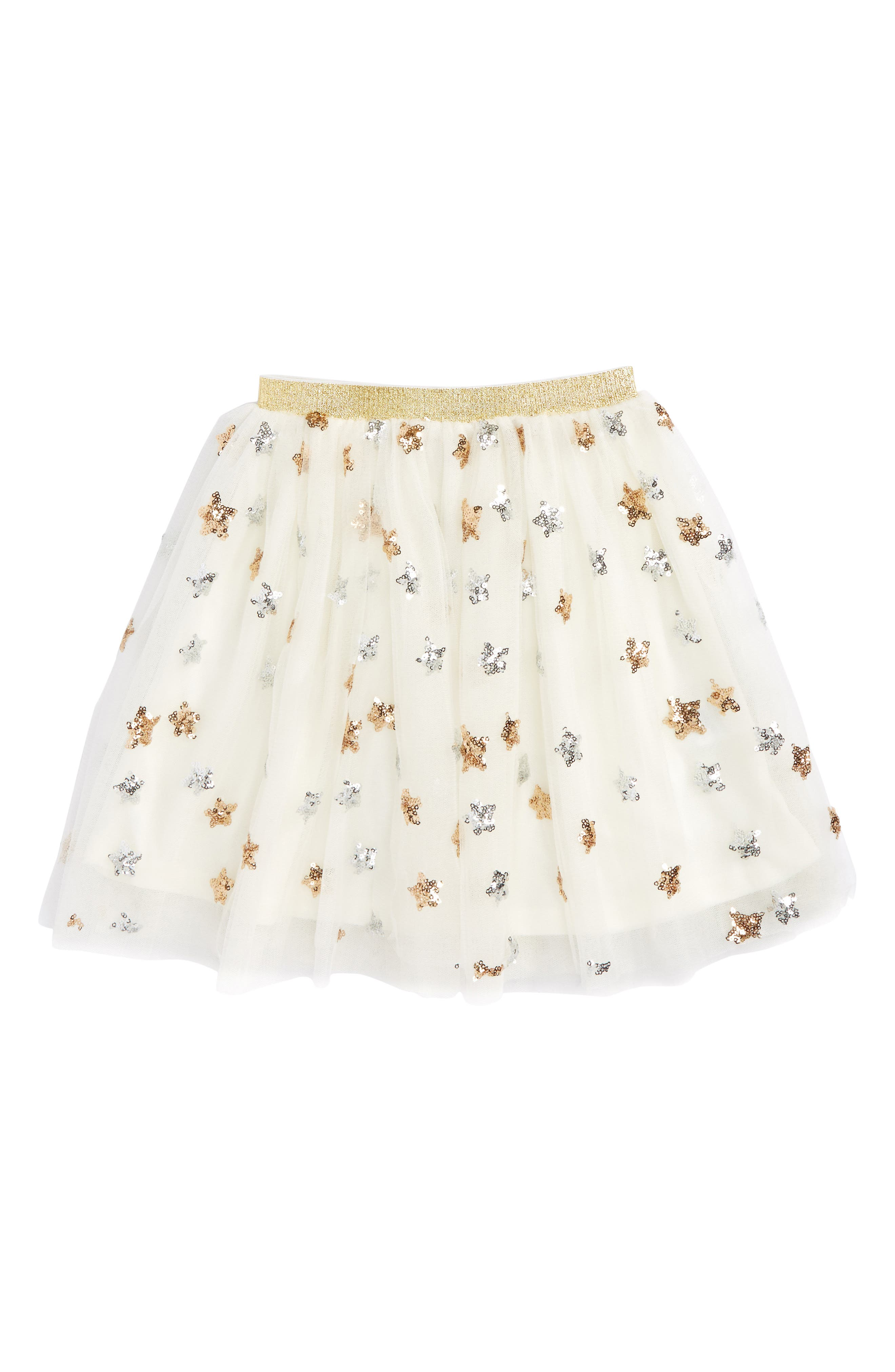 Truly Me Star Tulle Skirt (Toddler Girls & Little Girls)