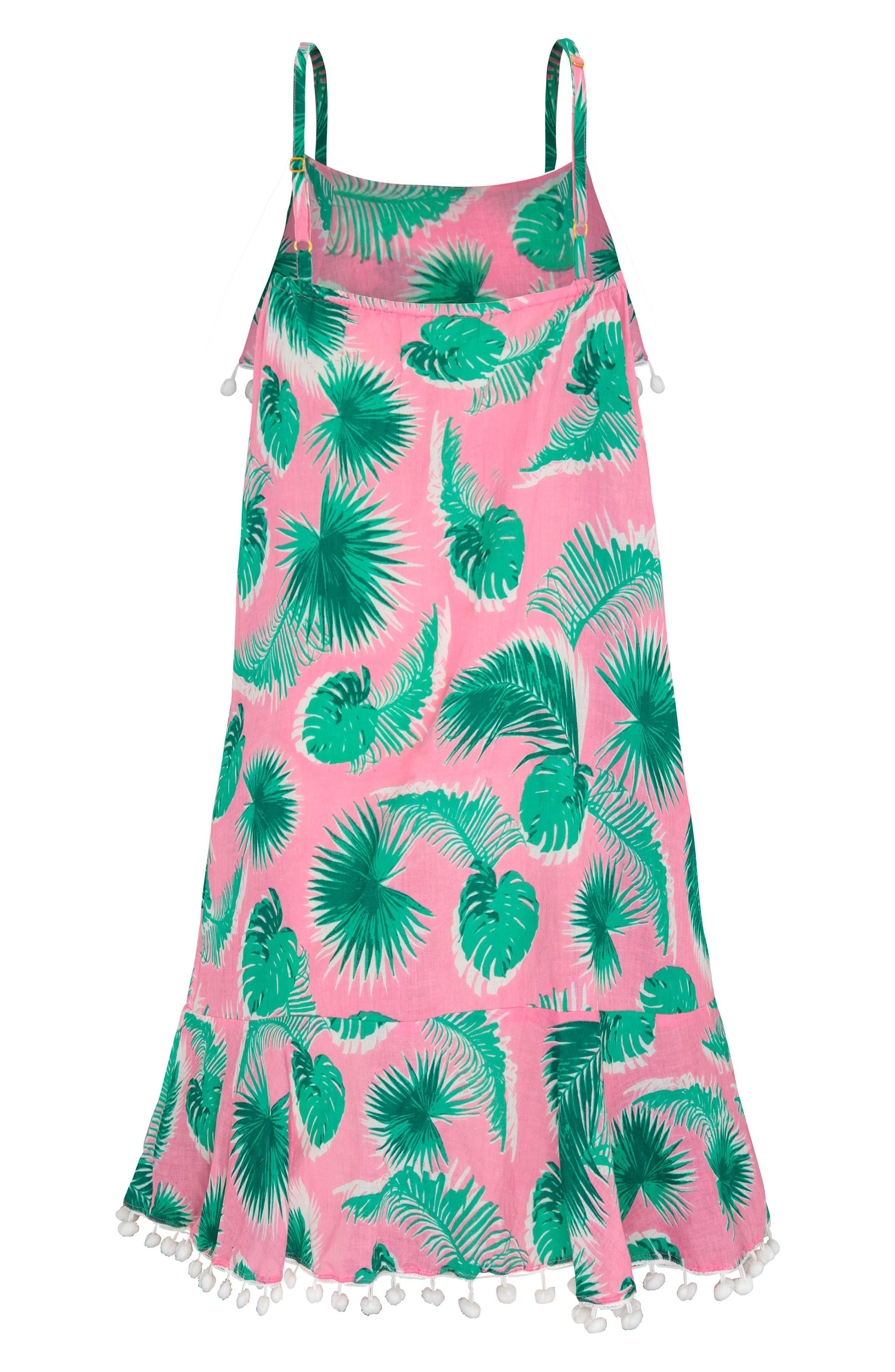 Print Cover-Up Dress,                             Alternate thumbnail 2, color,                             Botanica