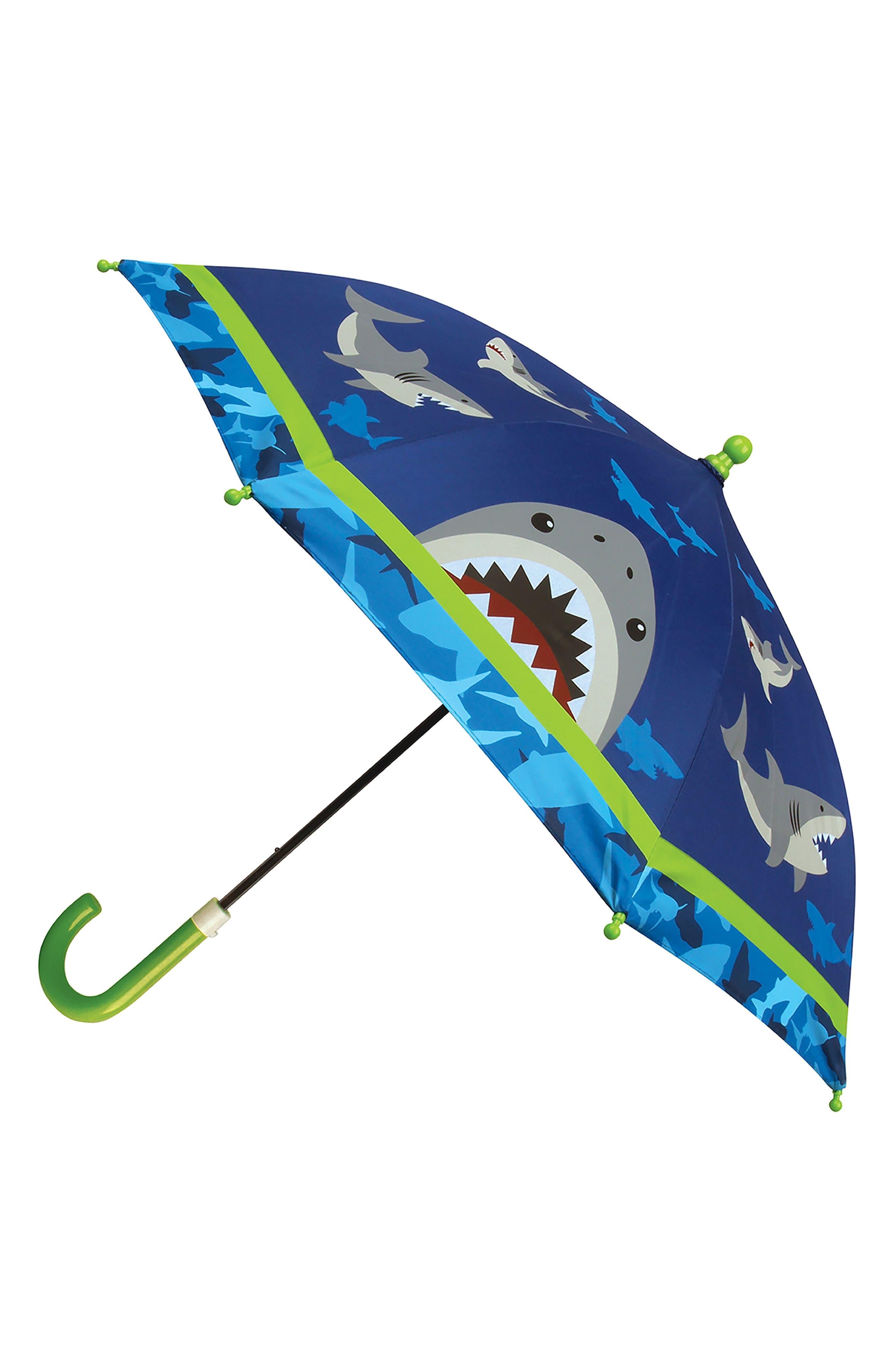 Alternate Image 5  - Stephen Joseph Shark Rain Boots & Umbrella Set (Little Boys & Big Boys)
