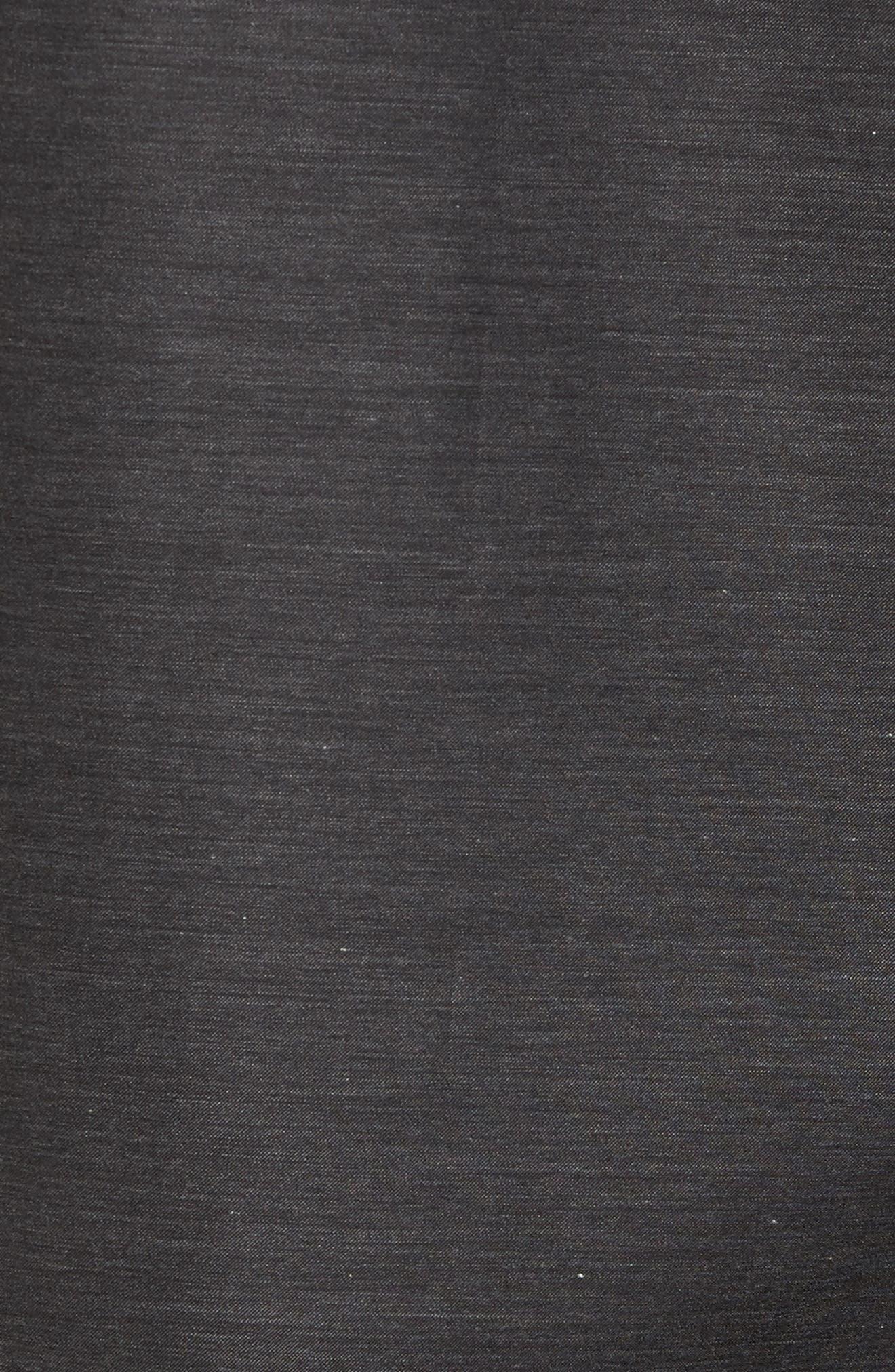 Alternate Image 5  - Bugatchi Trim Fit Heathered Sport Shirt