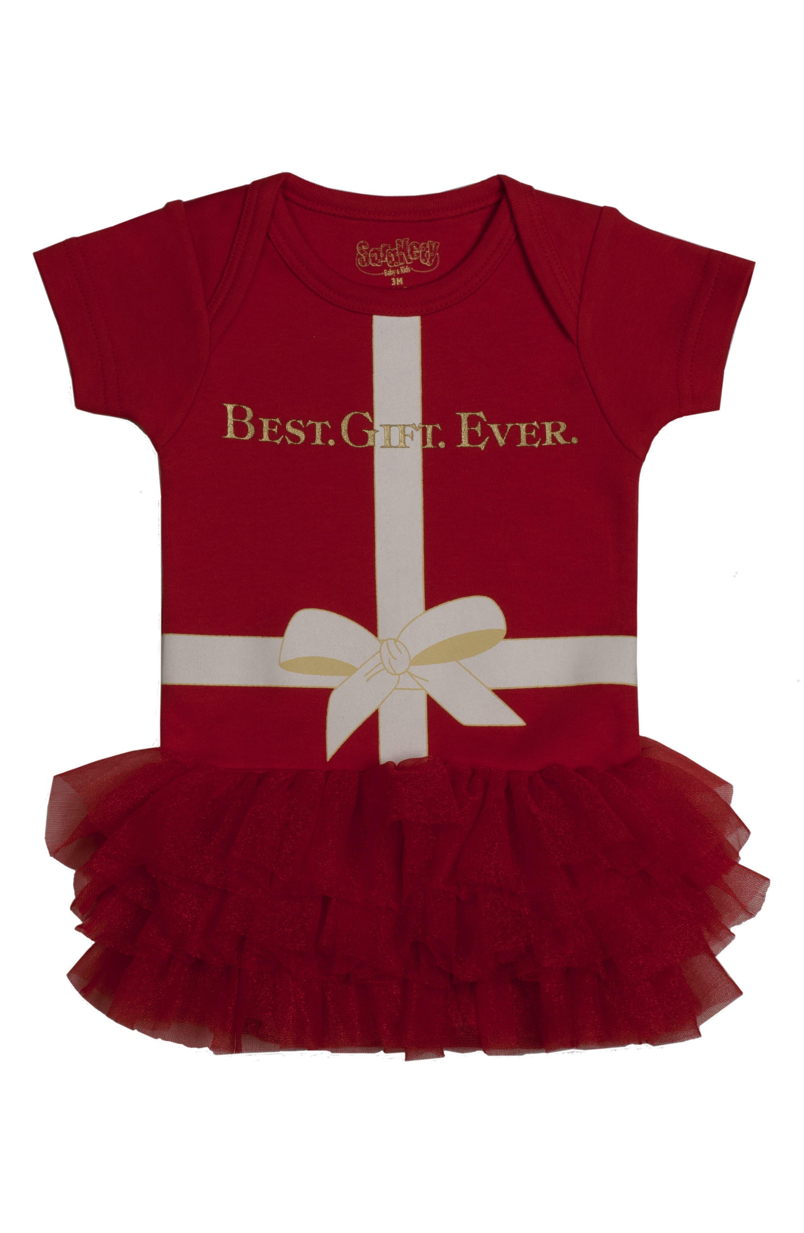 Sara Kety Baby & Kids Best Gift Ever Tutu Bodysuit (Baby Girls)