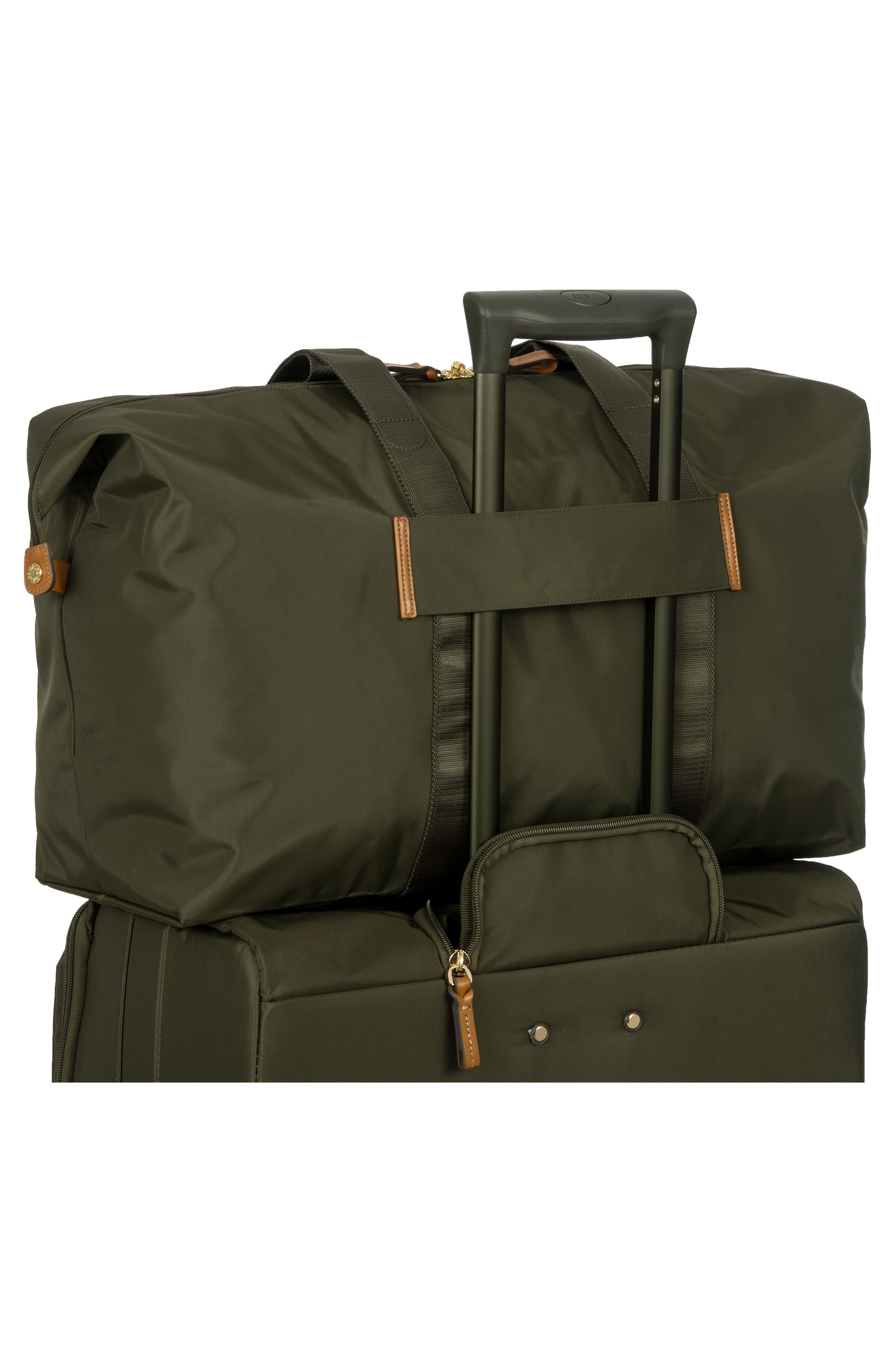 X-Bag 22-Inch Folding Duffel Bag,                             Alternate thumbnail 2, color,                             Olive
