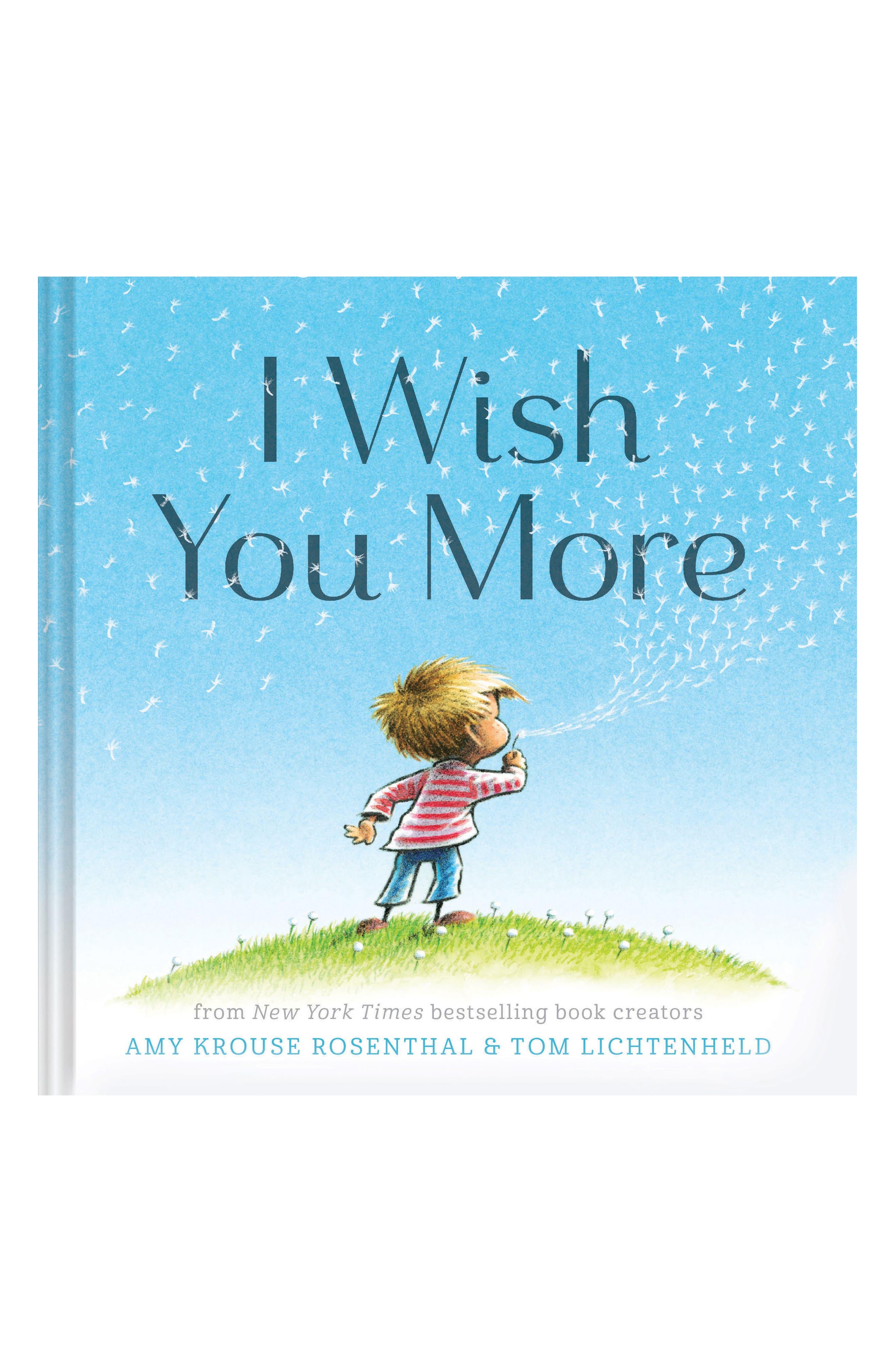 I Wish You More Book,                             Main thumbnail 1, color,                             Blue