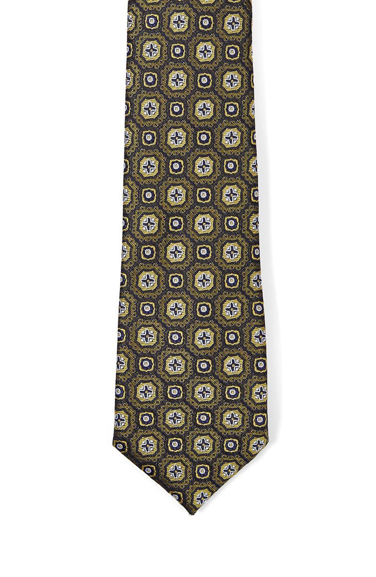 Alternate Image 2  - Topman Paisley Jacquard Tie