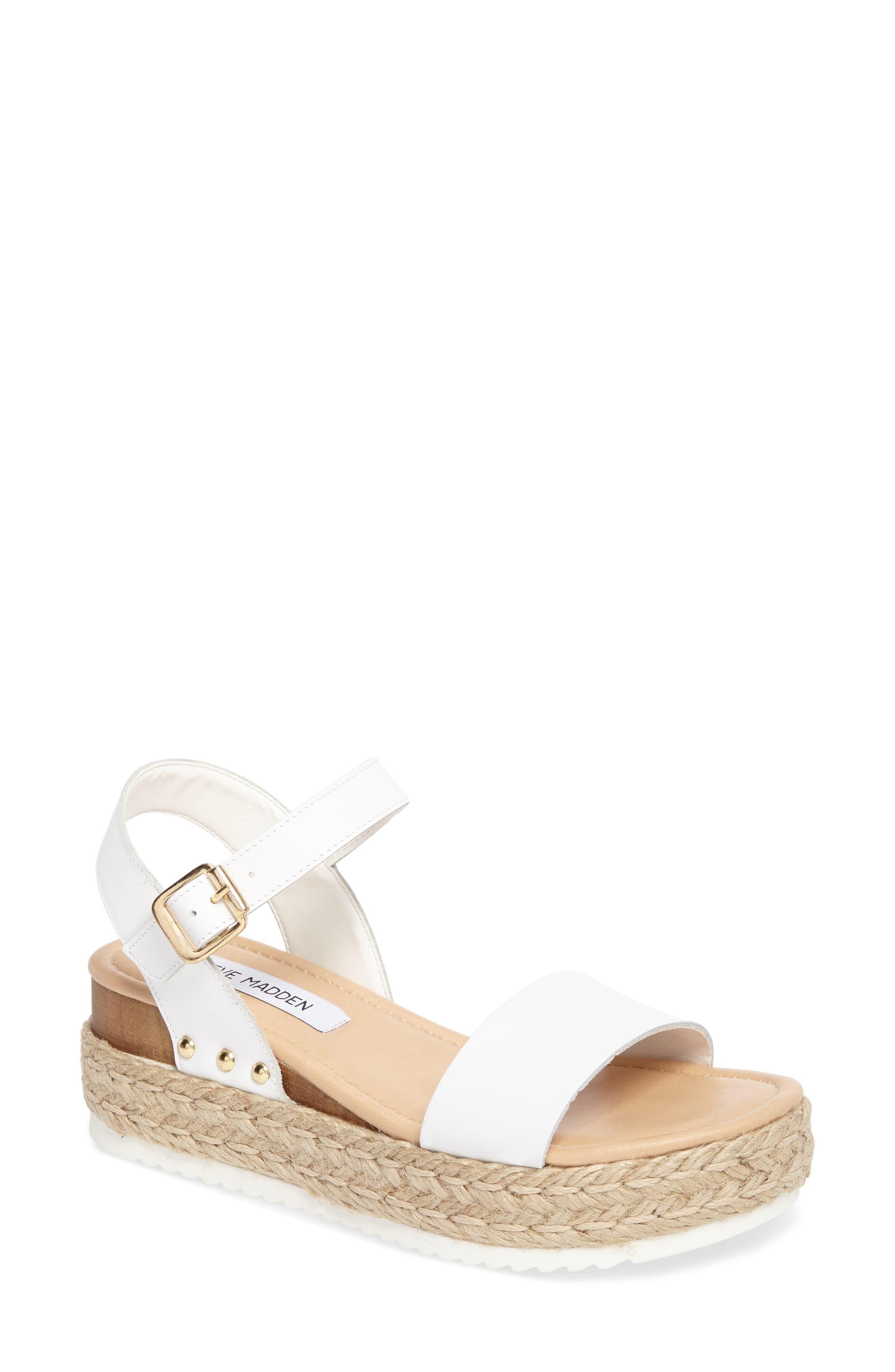 Steve Madden Chiara Platform Espadrille Sandal (Women)