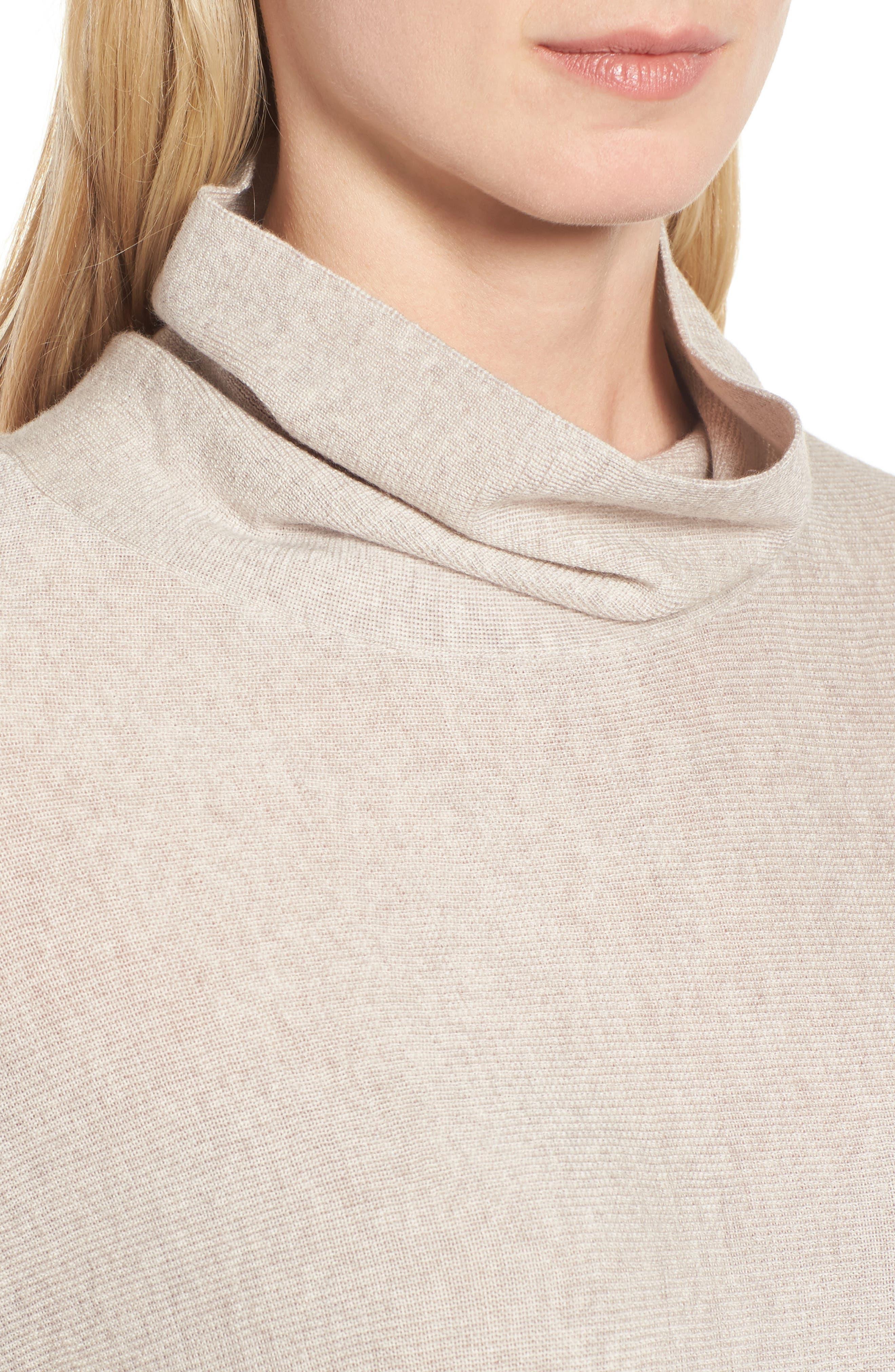 Alternate Image 4  - Eileen Fisher Merino Wool Tunic Sweater