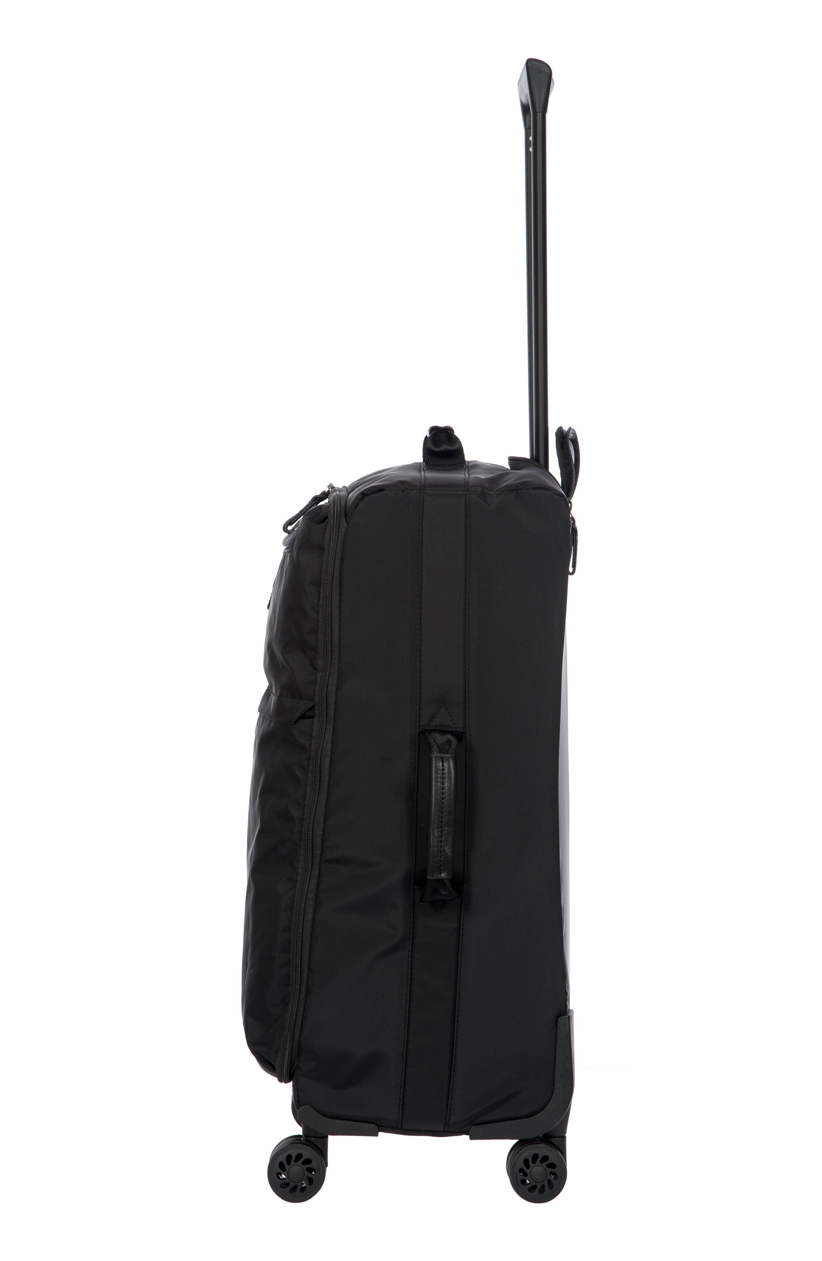 X-Bag 25-Inch Spinner Suitcase,                             Alternate thumbnail 3, color,                             Black/ Black