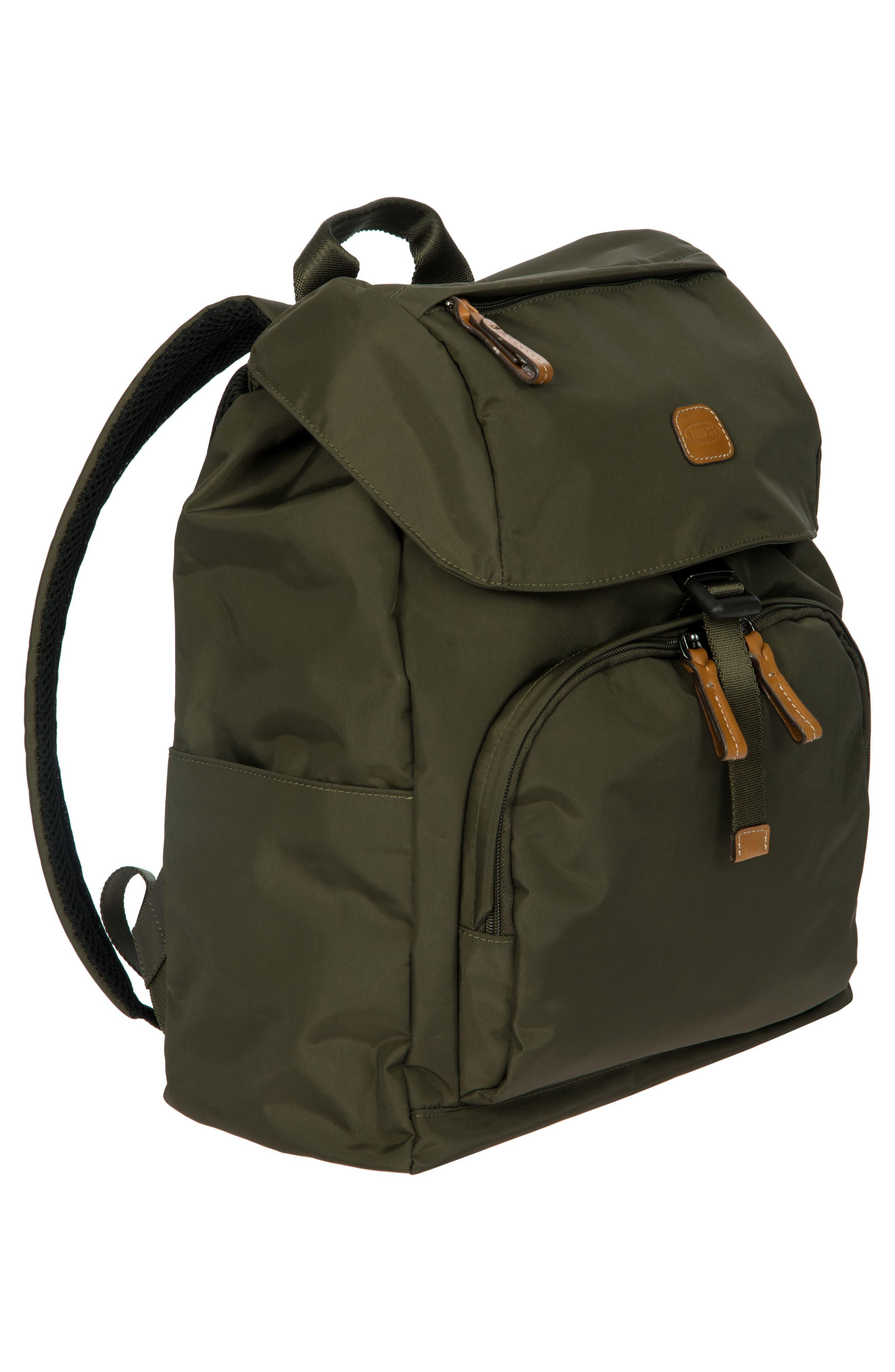 X-Bag Travel Excursion Backpack,                             Alternate thumbnail 6, color,                             Olive