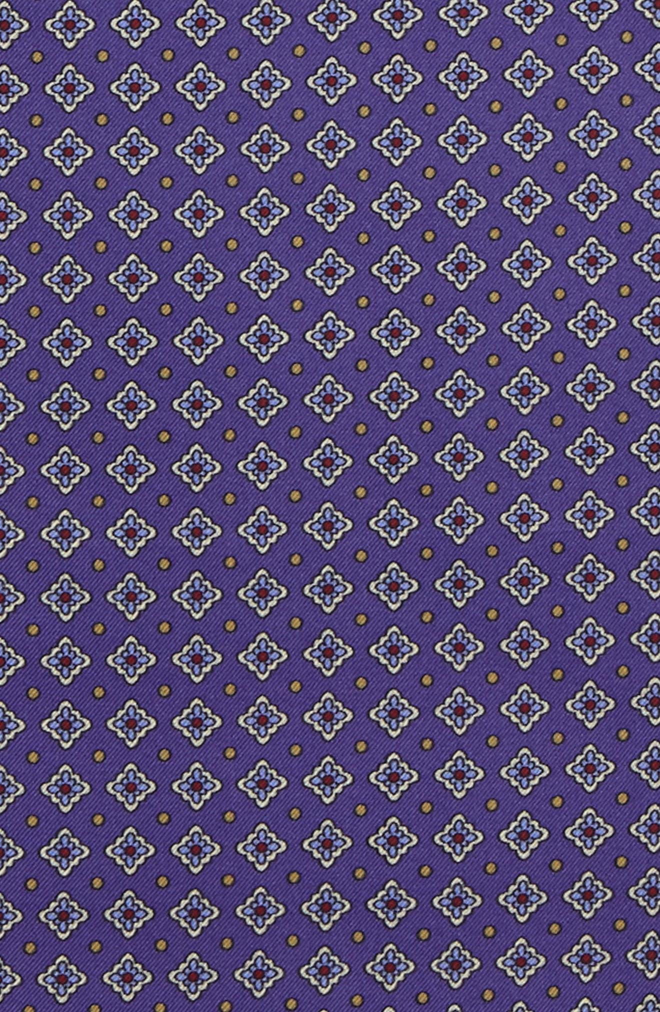 Alternate Image 3  - Eton Medallion Silk Pocket Square