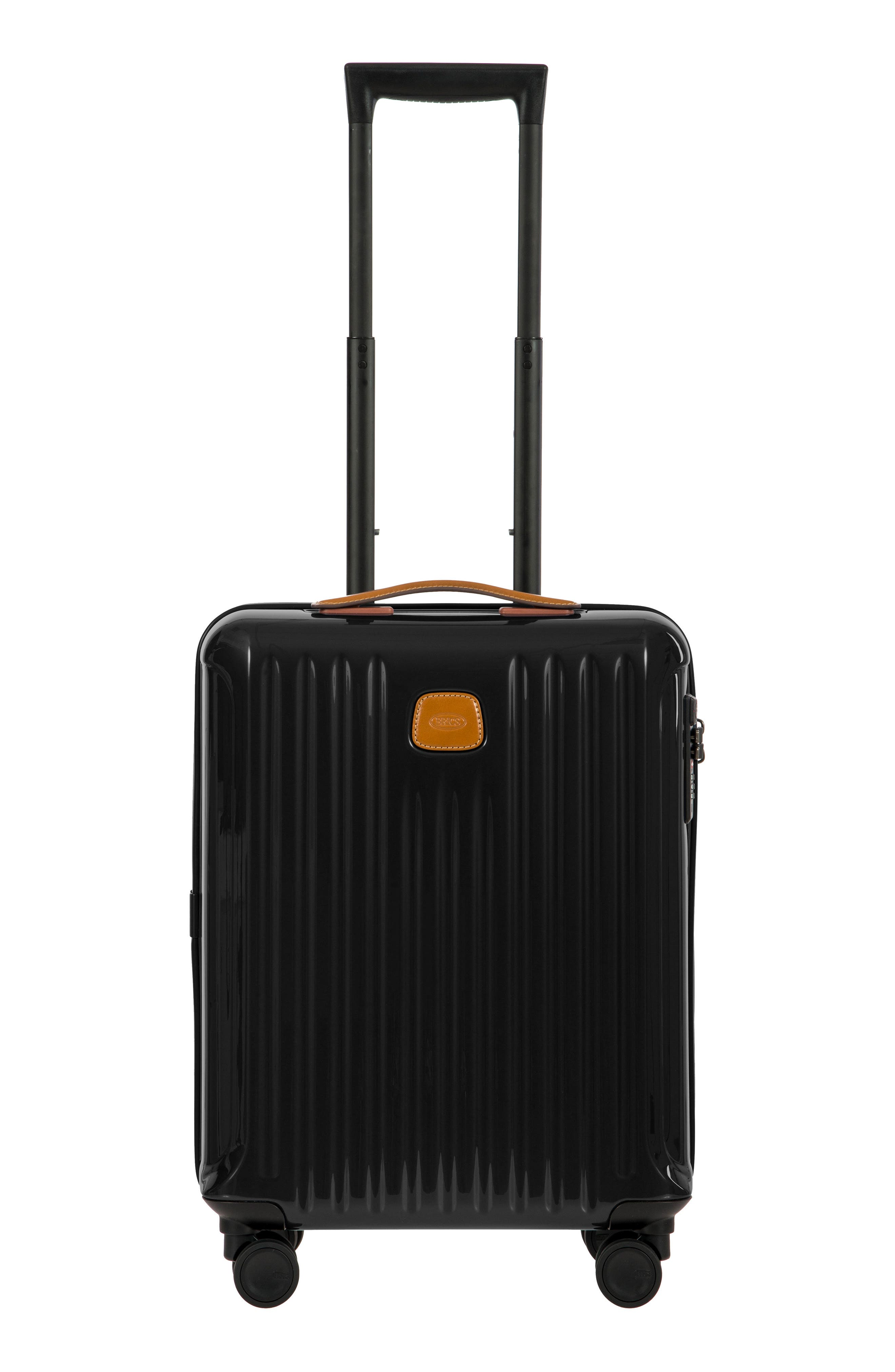 Capri 21-Inch Spinner Carry-On,                             Main thumbnail 1, color,                             Black