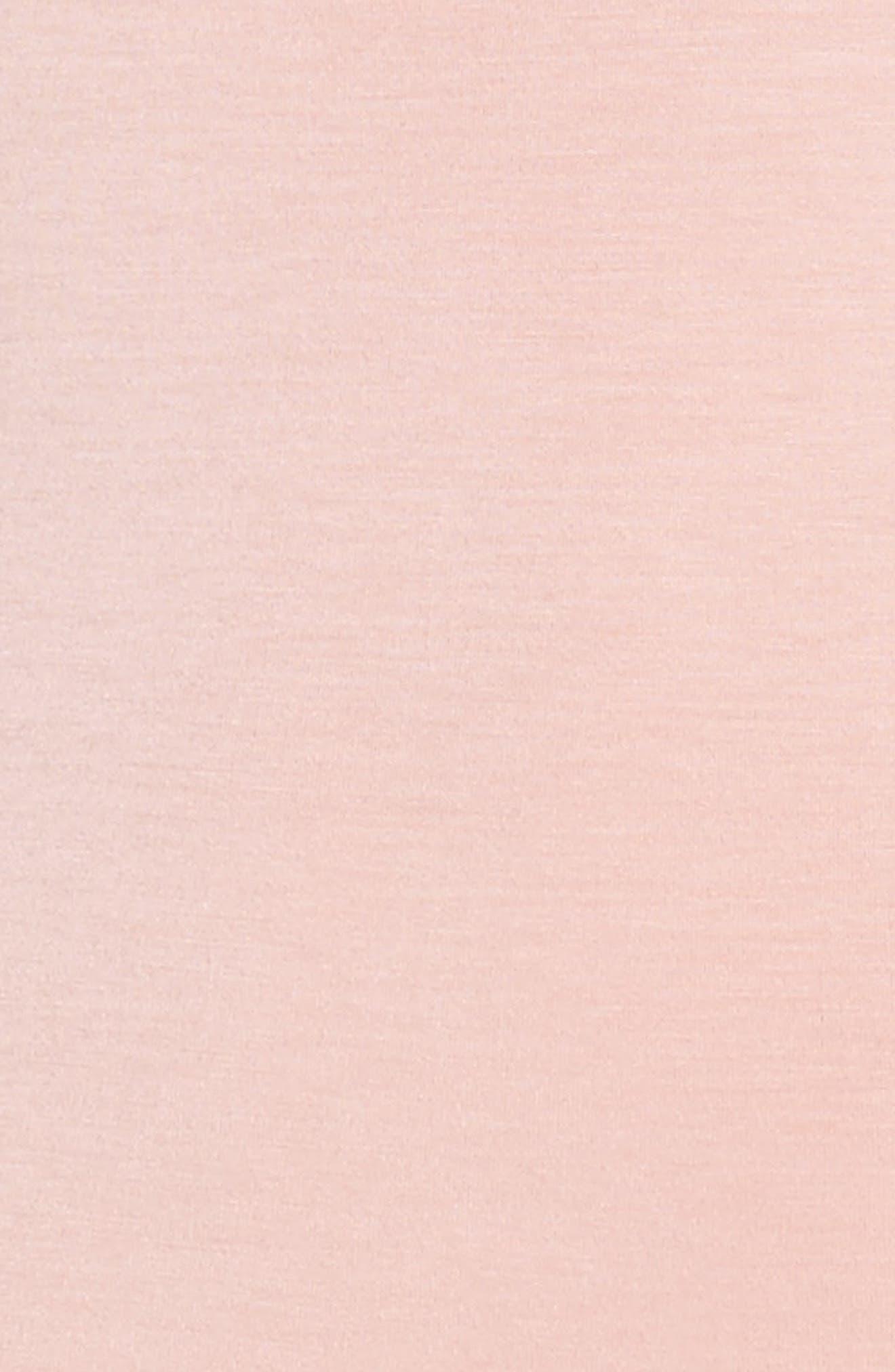 Jenny V-Neck Thong Bodysuit,                             Alternate thumbnail 4, color,                             Dream Pink