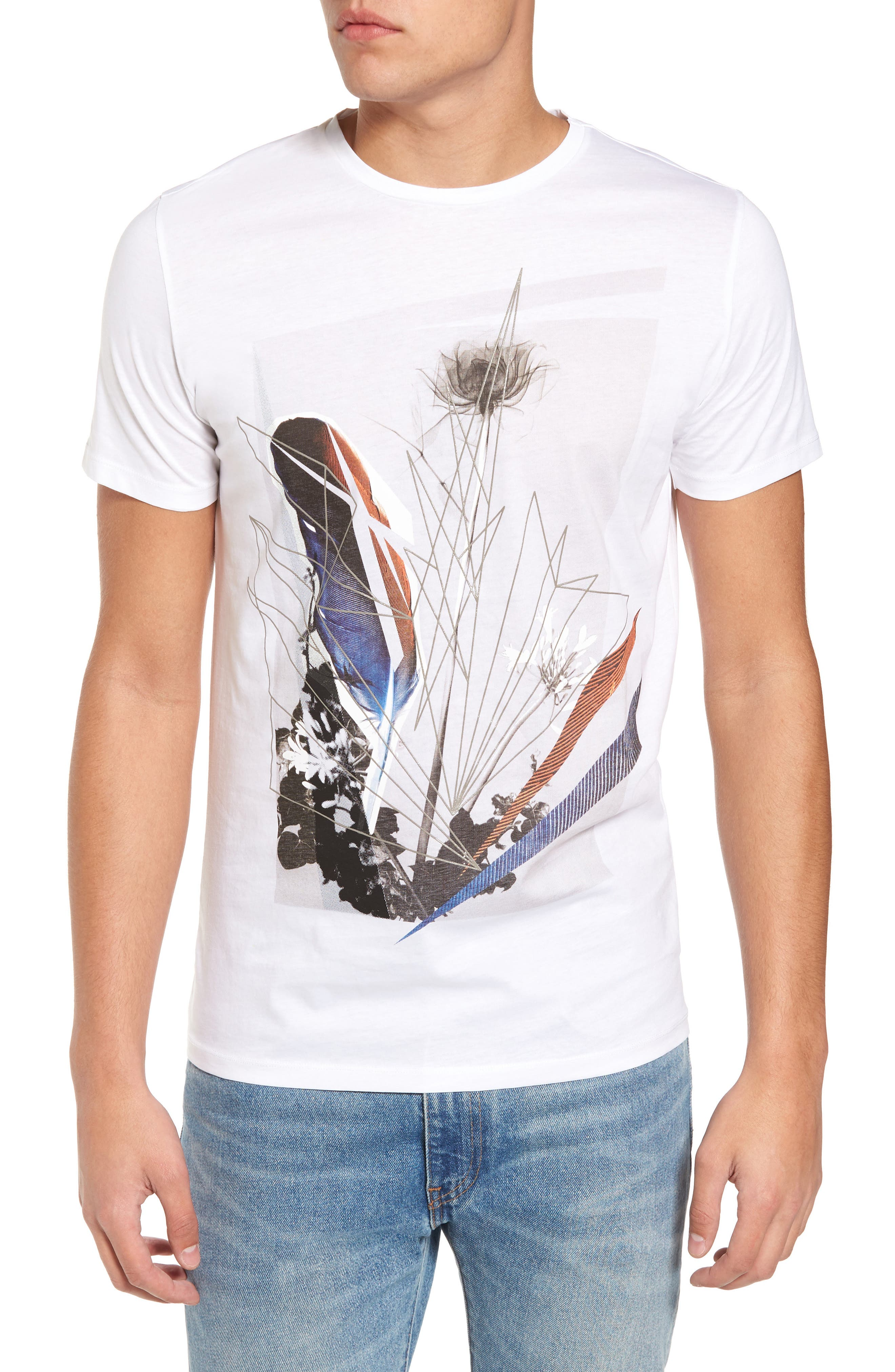 Alternate Image 1 Selected - Antony Morato Graphic T-Shirt