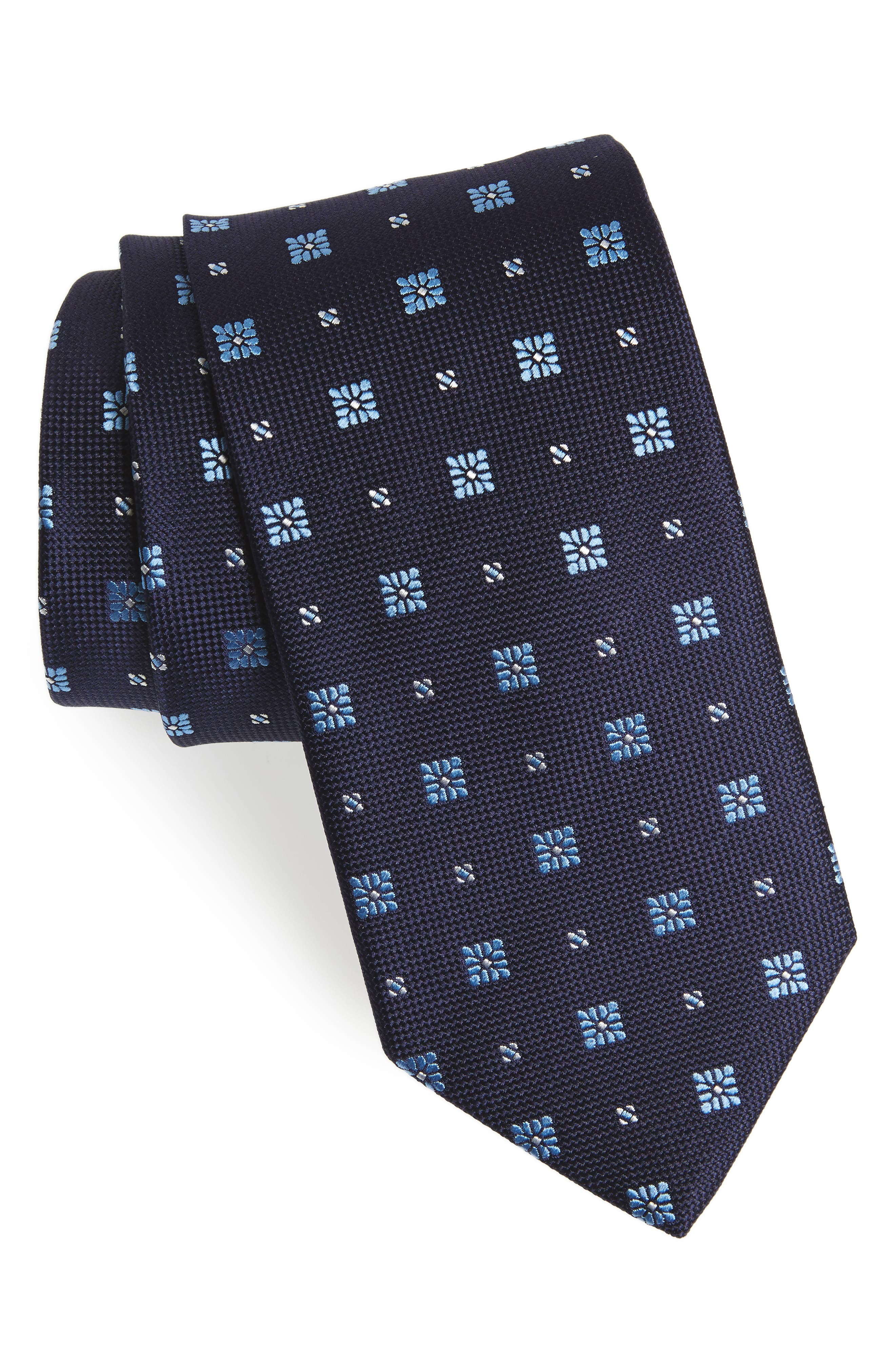 Alternate Image 1 Selected - Eton Medallion Silk Tie
