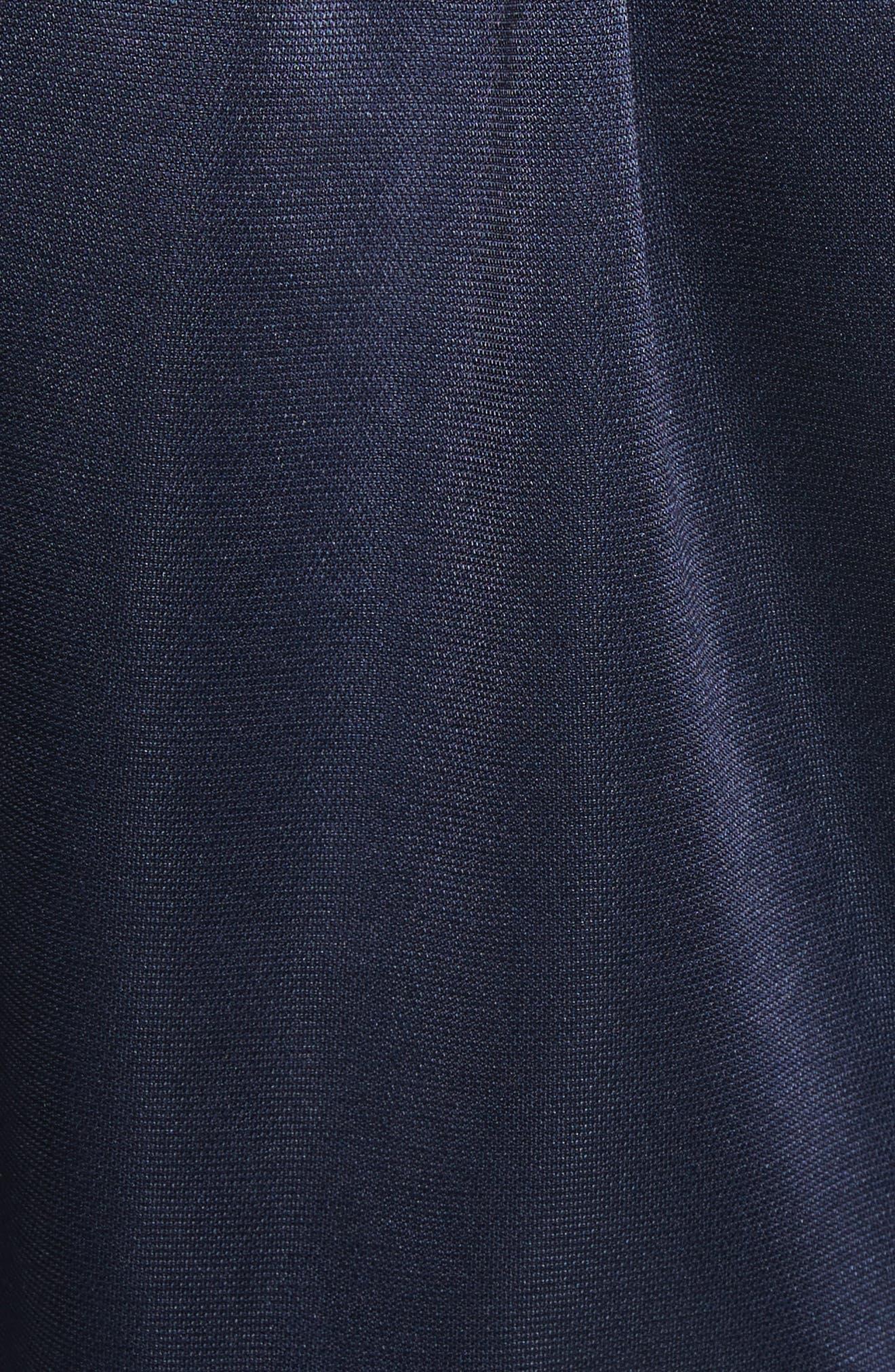 Pullover Track Jacket,                             Alternate thumbnail 5, color,                             Navy/ Green Multi