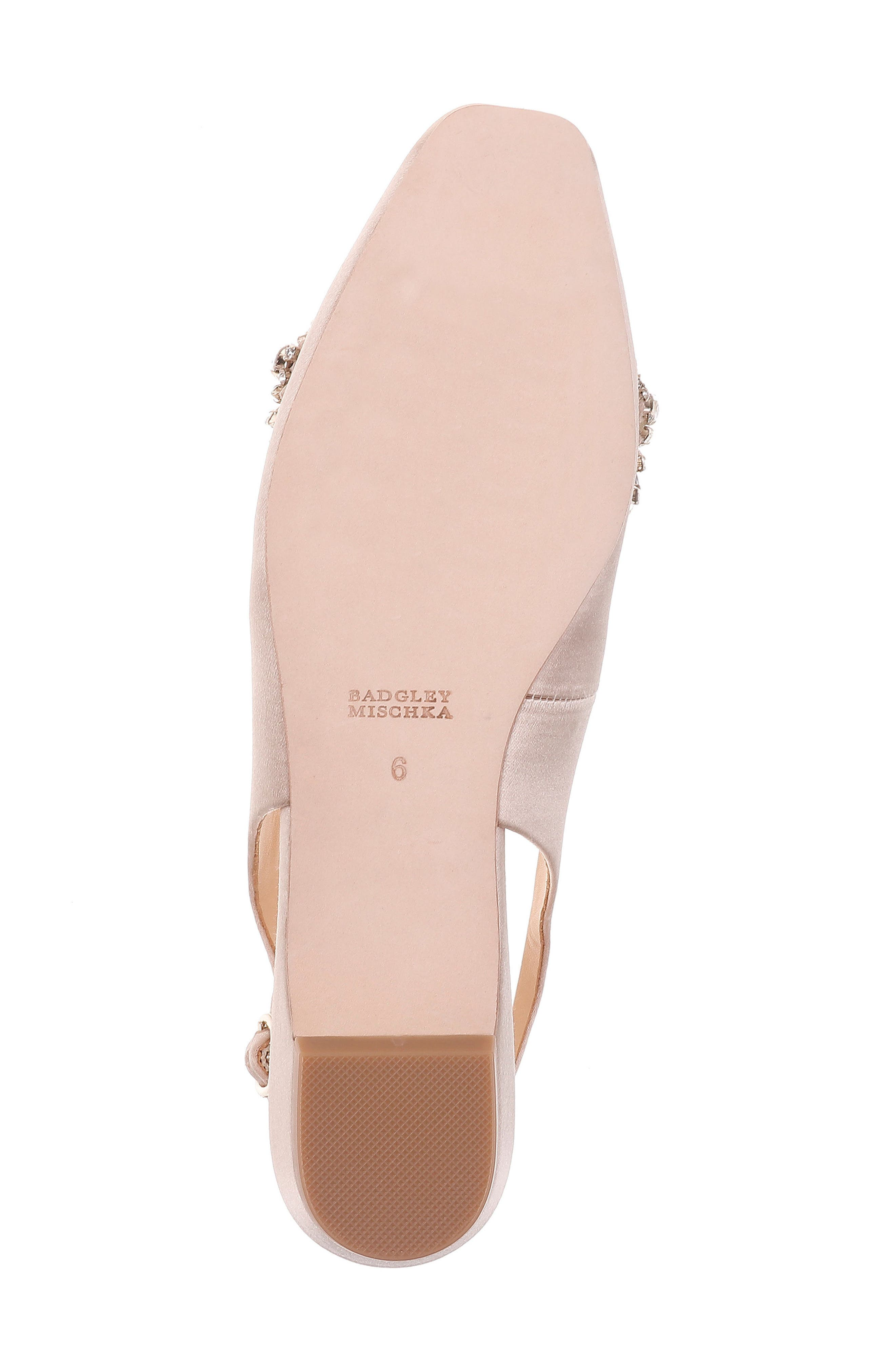 Alternate Image 6  - Badgley Mischka Shayla Slingback Flat (Women)