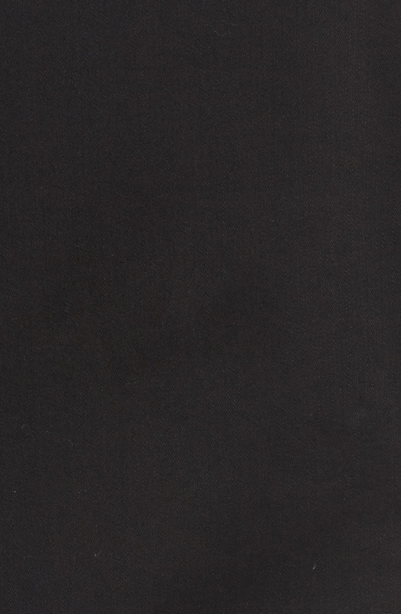 Studded Blazer,                             Alternate thumbnail 5, color,                             Noir