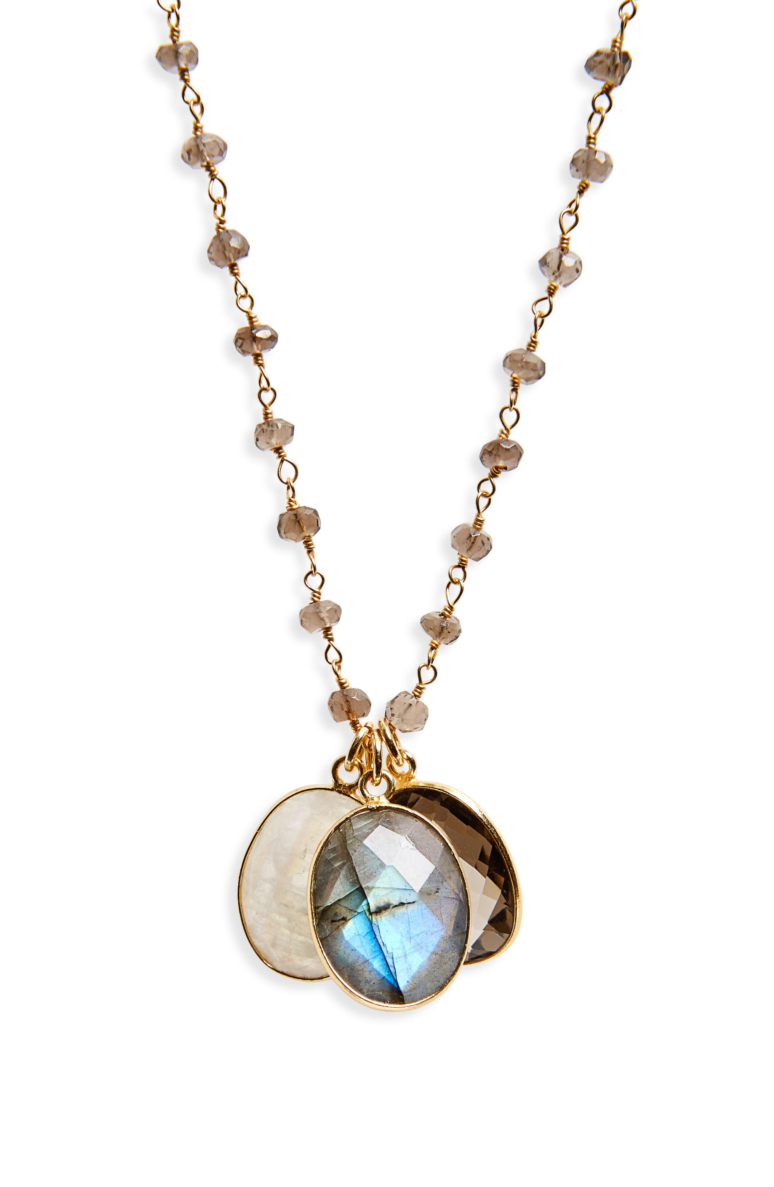 Alternate Image 2  - Jemma Sands Grenada Long Pendant Necklace