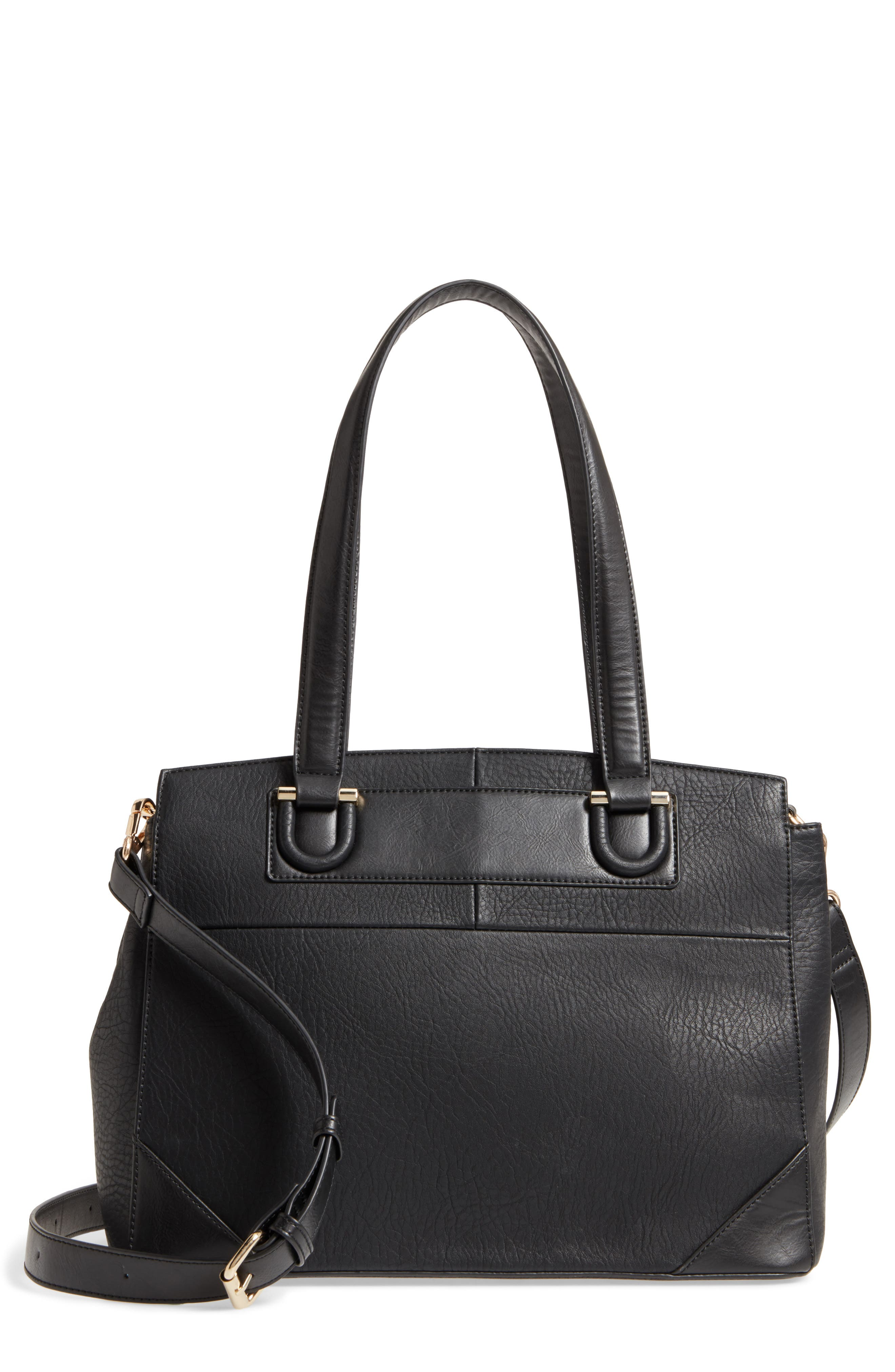 Alternate Image 1 Selected - Sole Society Sterling Faux Leather Satchel
