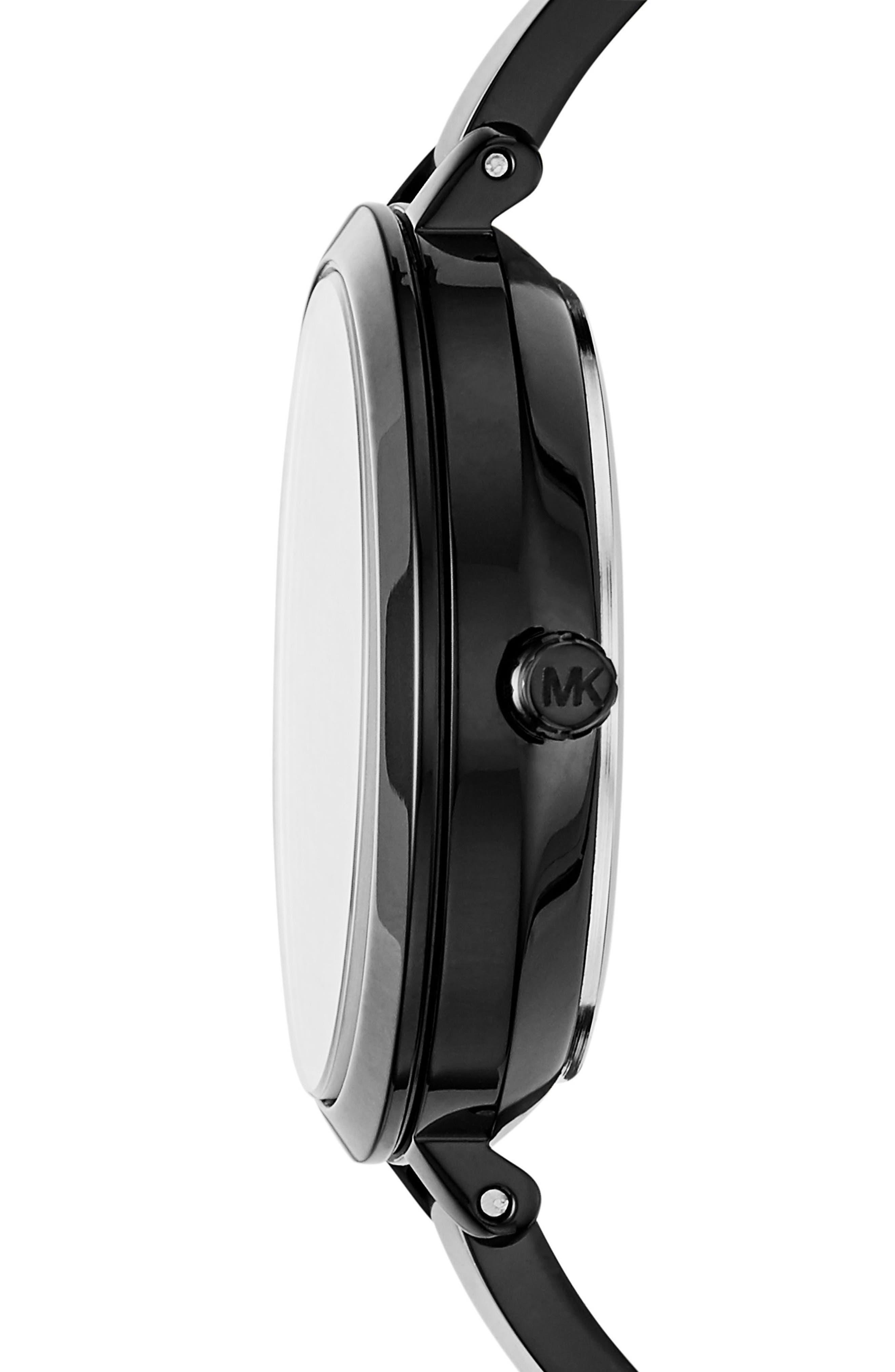 Alternate Image 2  - Michael Kors Jaryn Crystal Accent Bangle Watch, 36mm