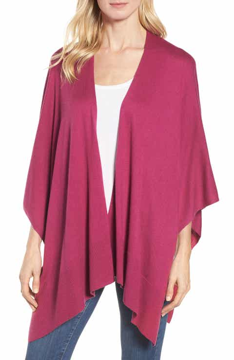 Women's Purple Capes & Ponchos Sweaters | Nordstrom