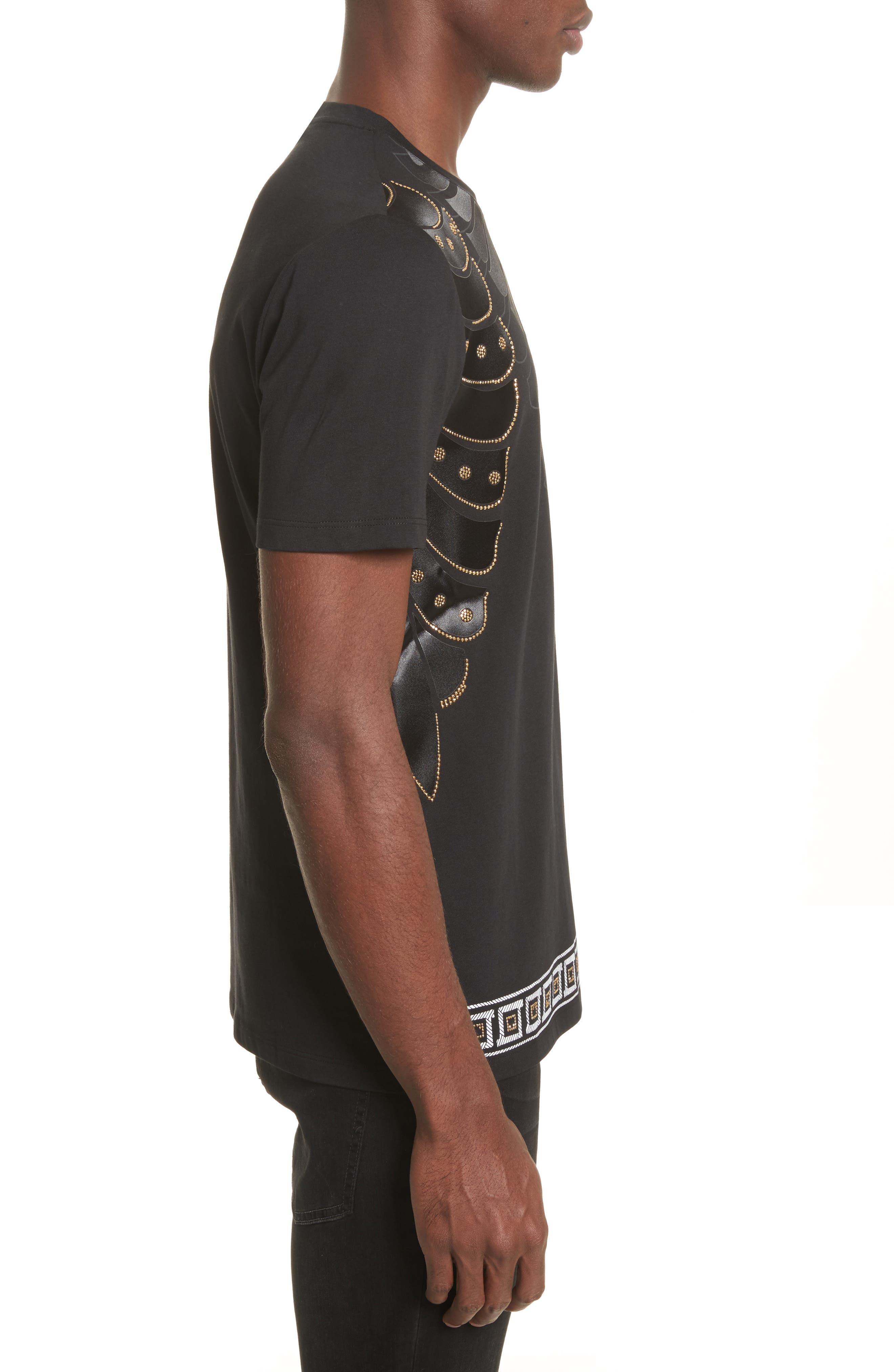 Alternate Image 3  - Versace Collection Armor Print T-Shirt