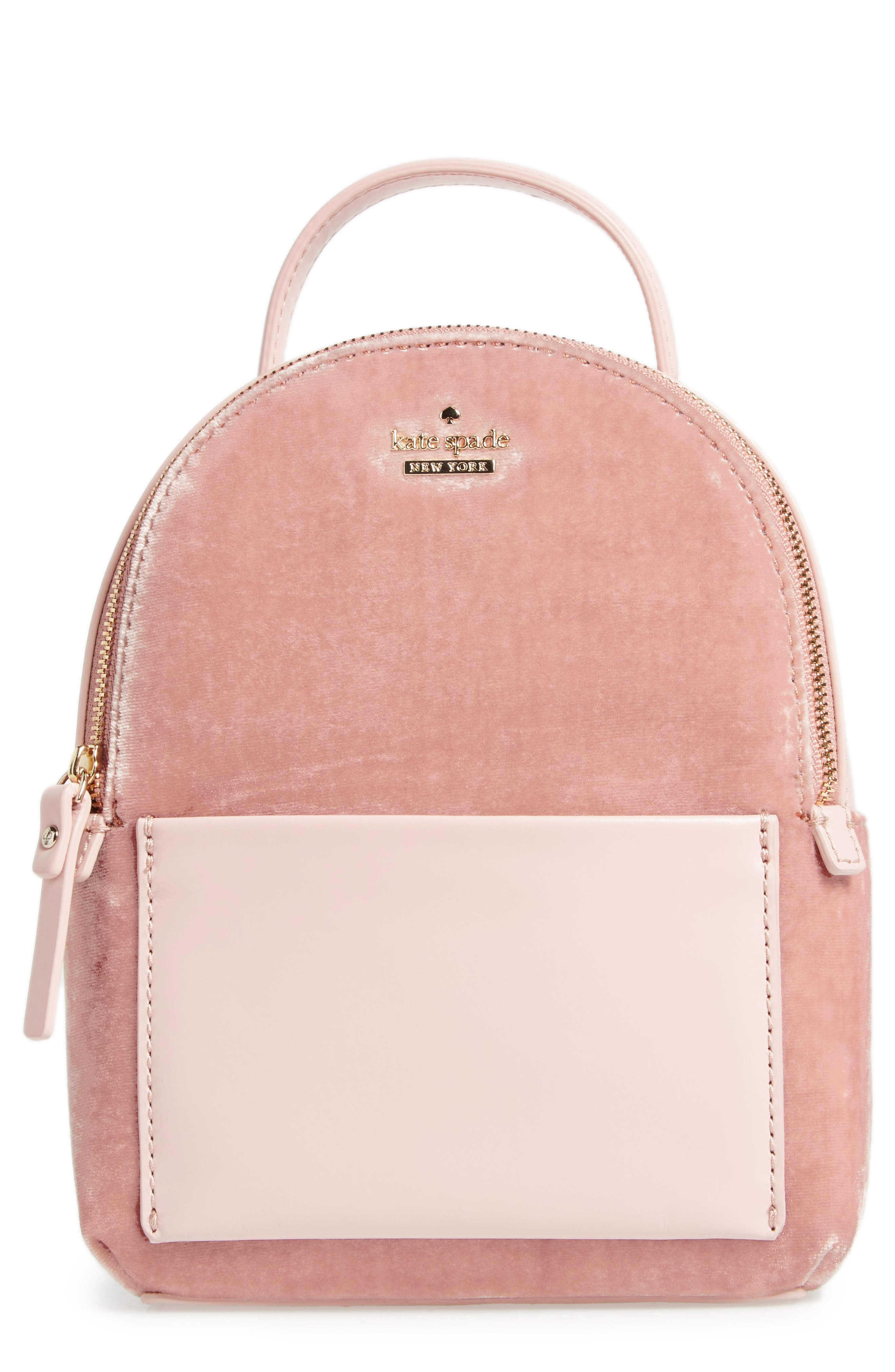 kate spade new york watson lane velvet merry convertible backpack