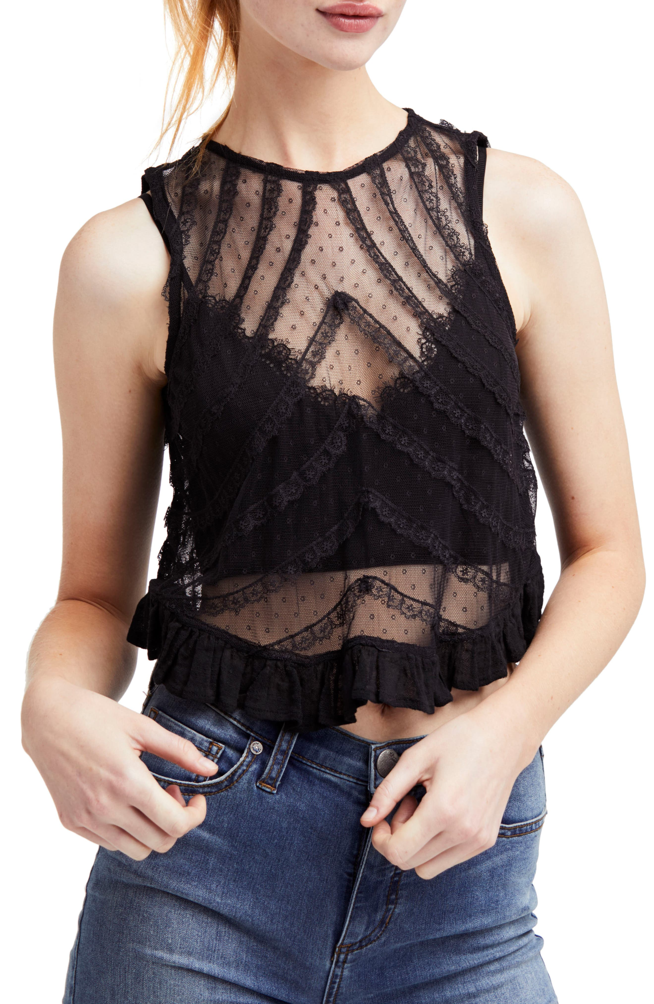Free People  SHE'S A DOLL TANK