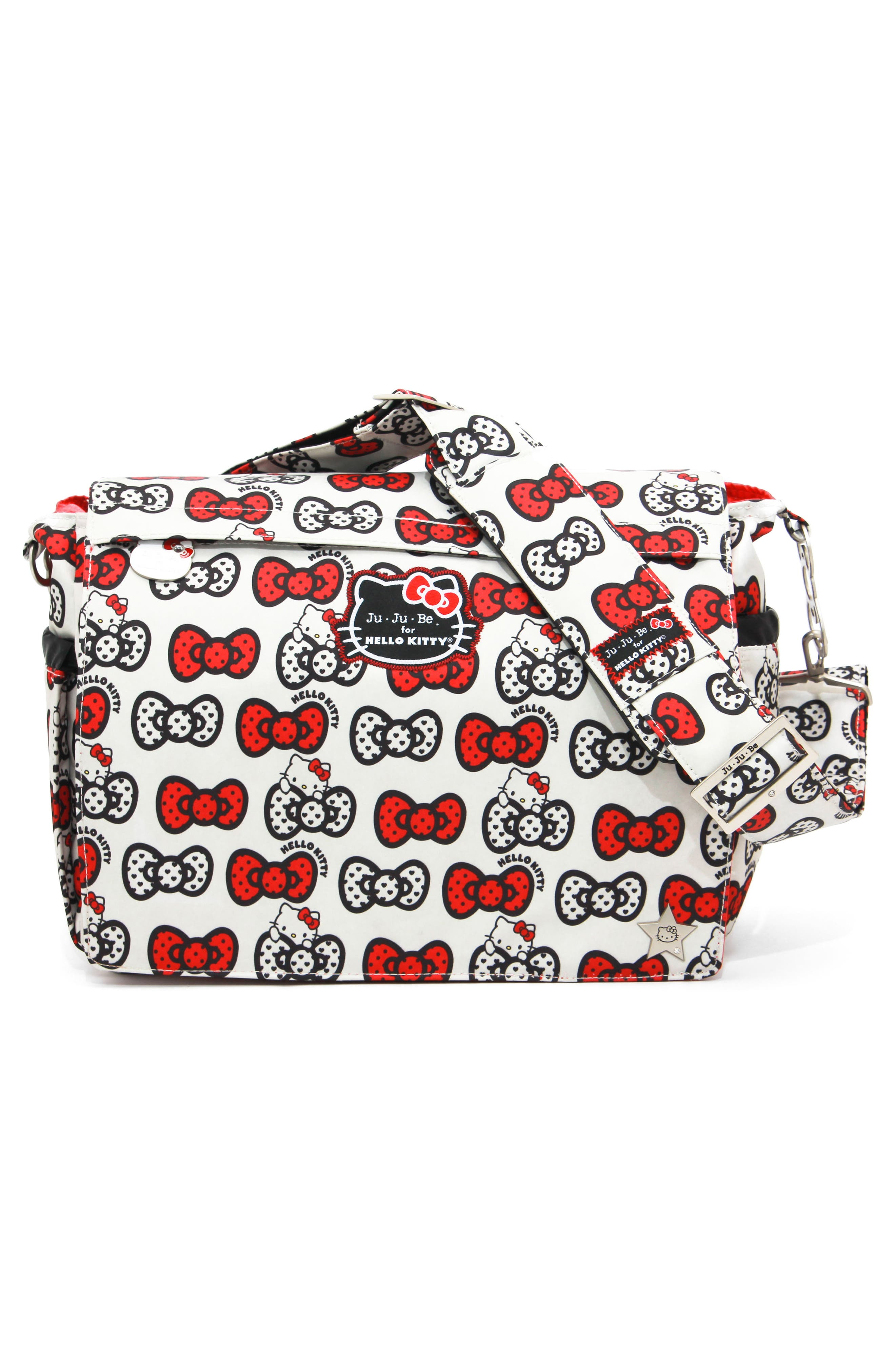 for Hello Kitty<sup>®</sup> 'Better Be' Diaper Bag,                             Alternate thumbnail 2, color,                             Peek A Bow